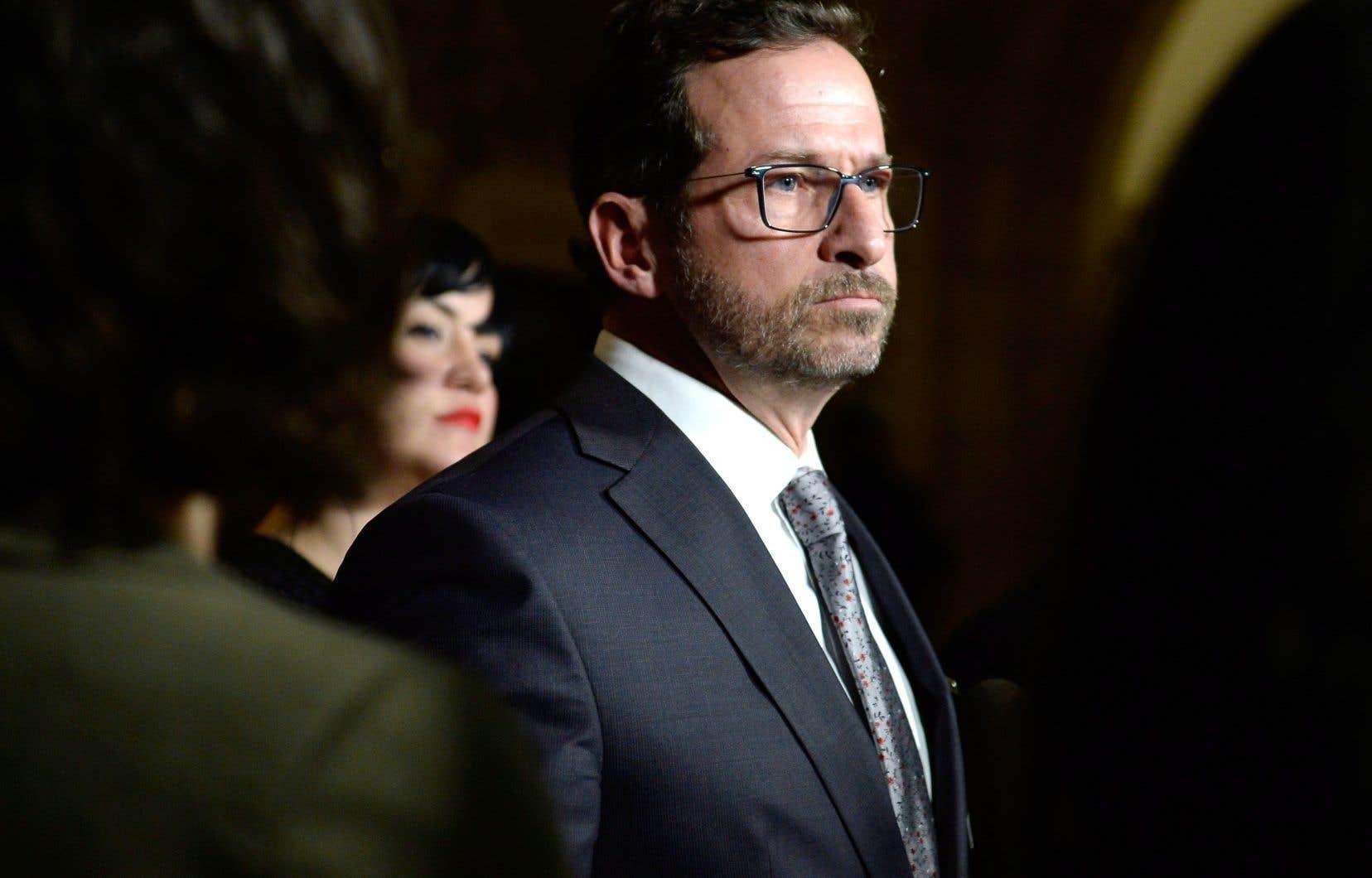 Yves-François Blanchet a confirmé son désir de diriger le Bloc québécois.