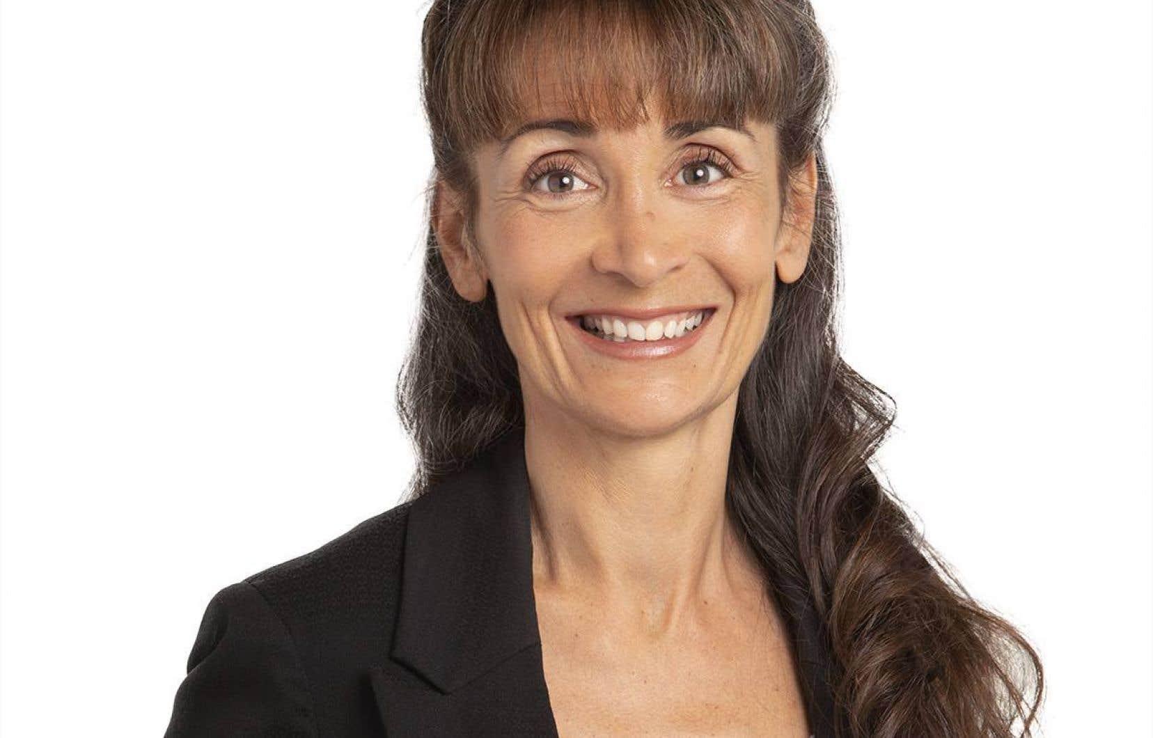 La députée caquiste de Laviolette–Saint-Maurice, Marie-Louise Tardif