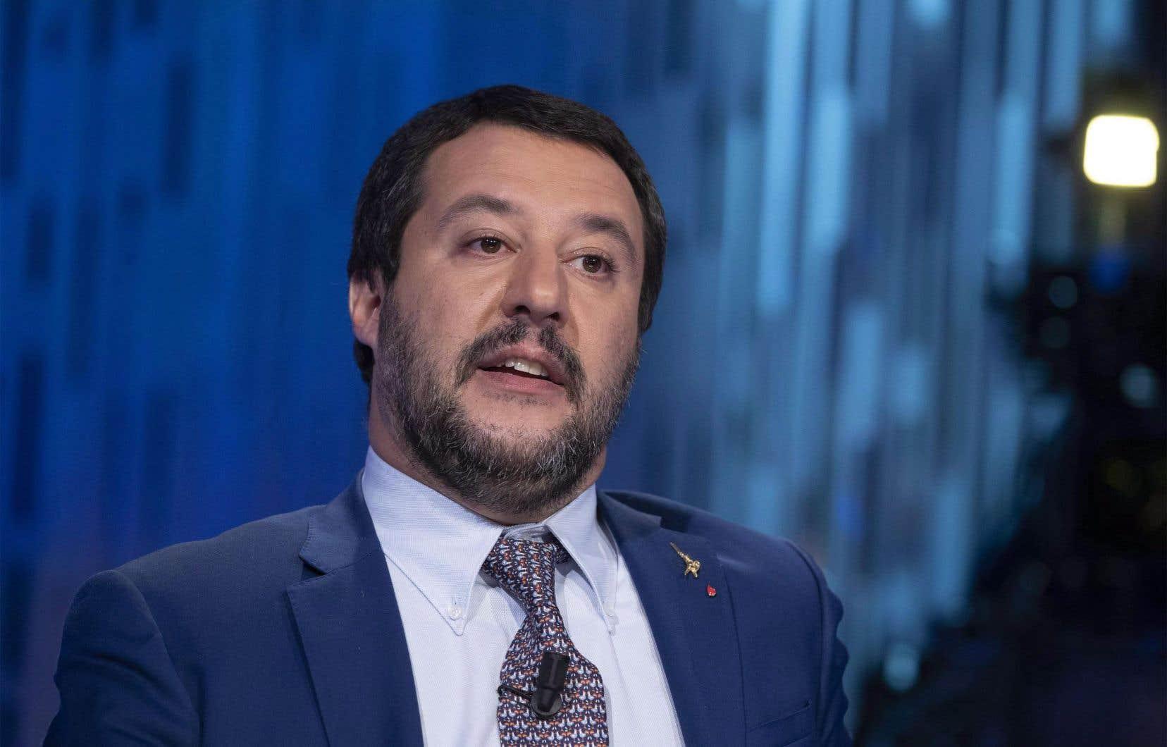 Le ministre italien de l'Intérieur, Matteo Salvini