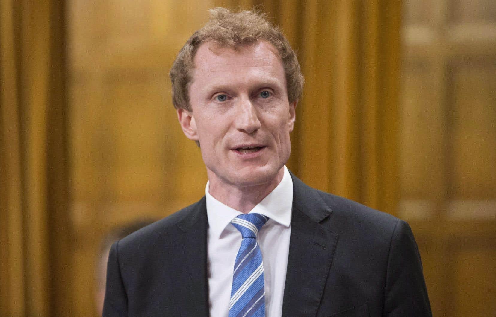 Le secrétaire parlementaire Marc Miller