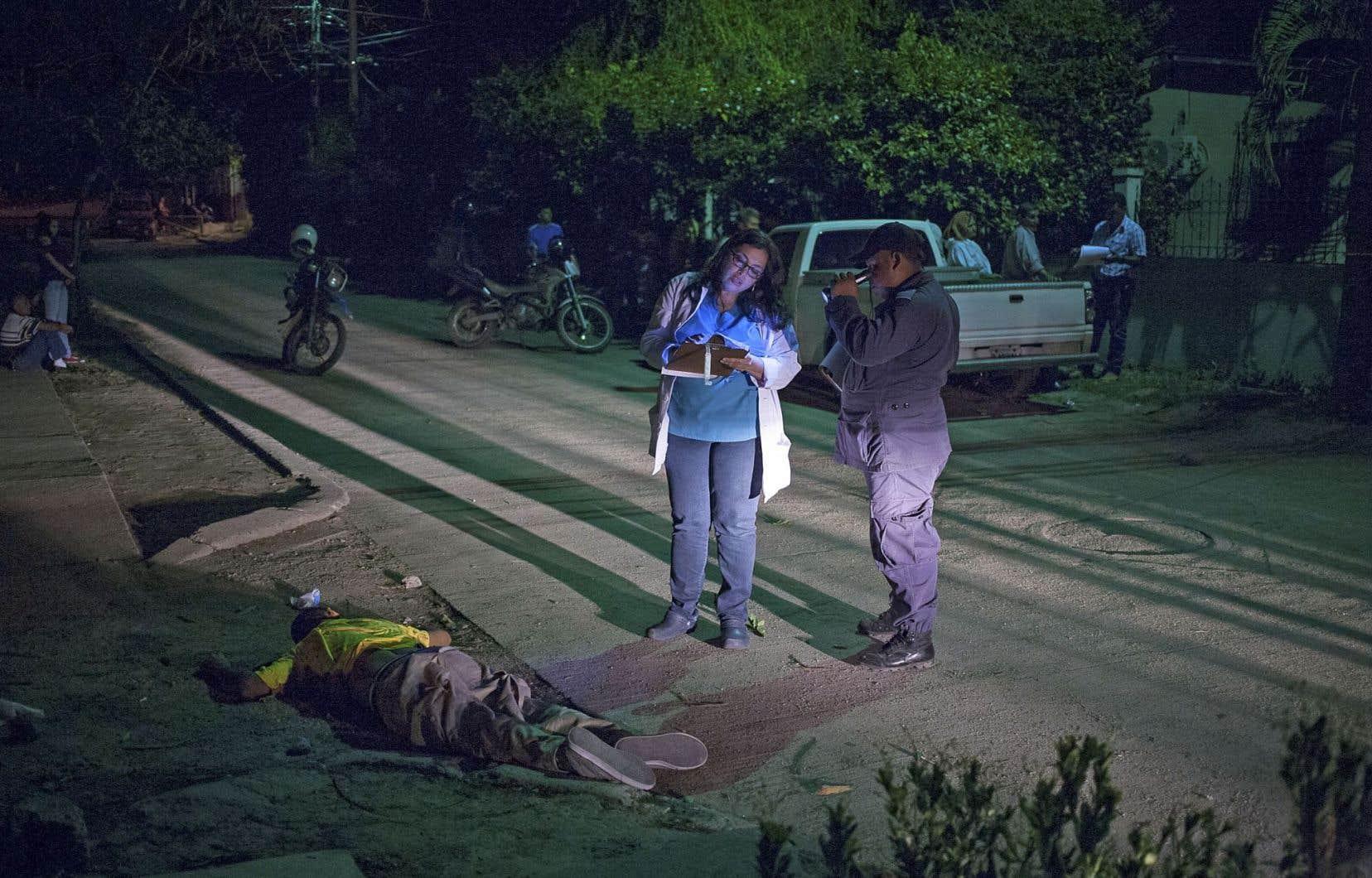 Au Honduras, les taux d'homicides sont de dix à vingt fois plus élevés que la moyenne mondiale.