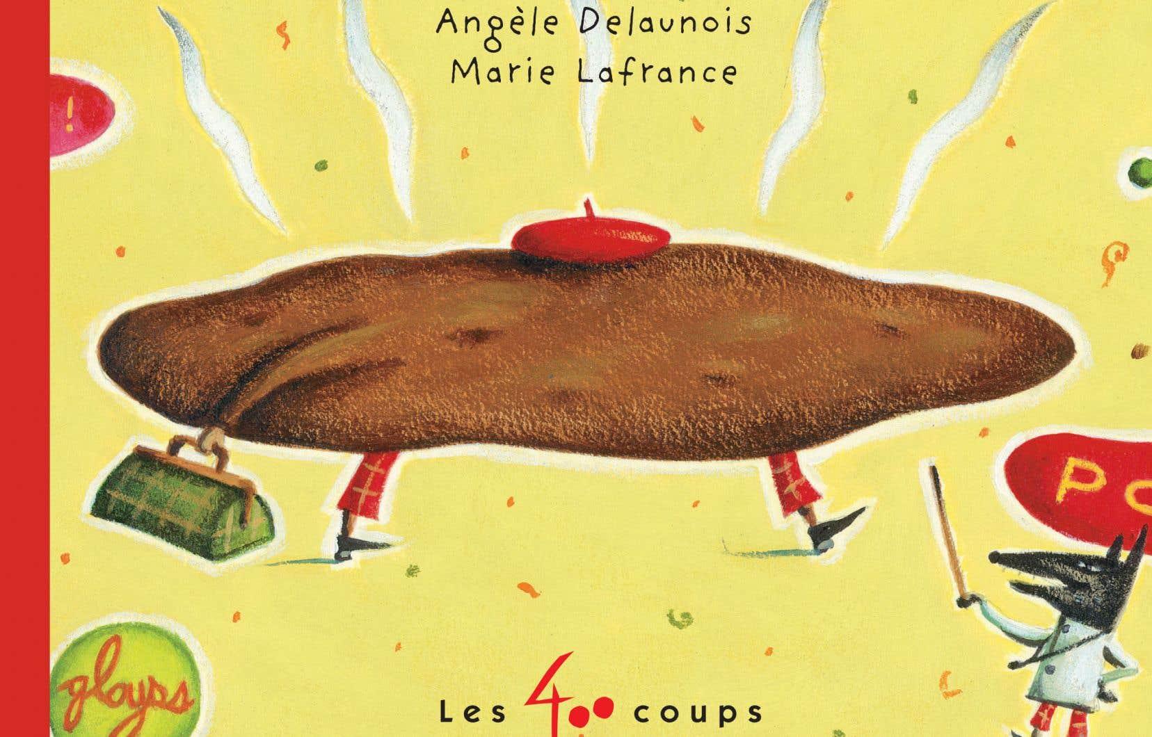 Détail de la couverture du livre «Le grand voyage de monsieur Caca»