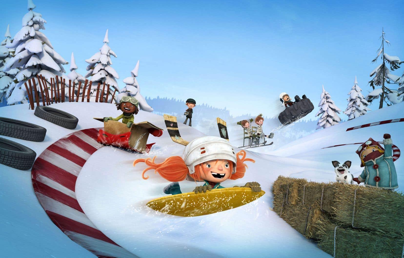 Trois ans après la sortie de «La guerre des tuques 3D» (2015), la boîte de production CarpeDiem Film & TV lance «La course des tuques». L'objectif avoué: poursuivre l'aventure, au-delà de l'écran.