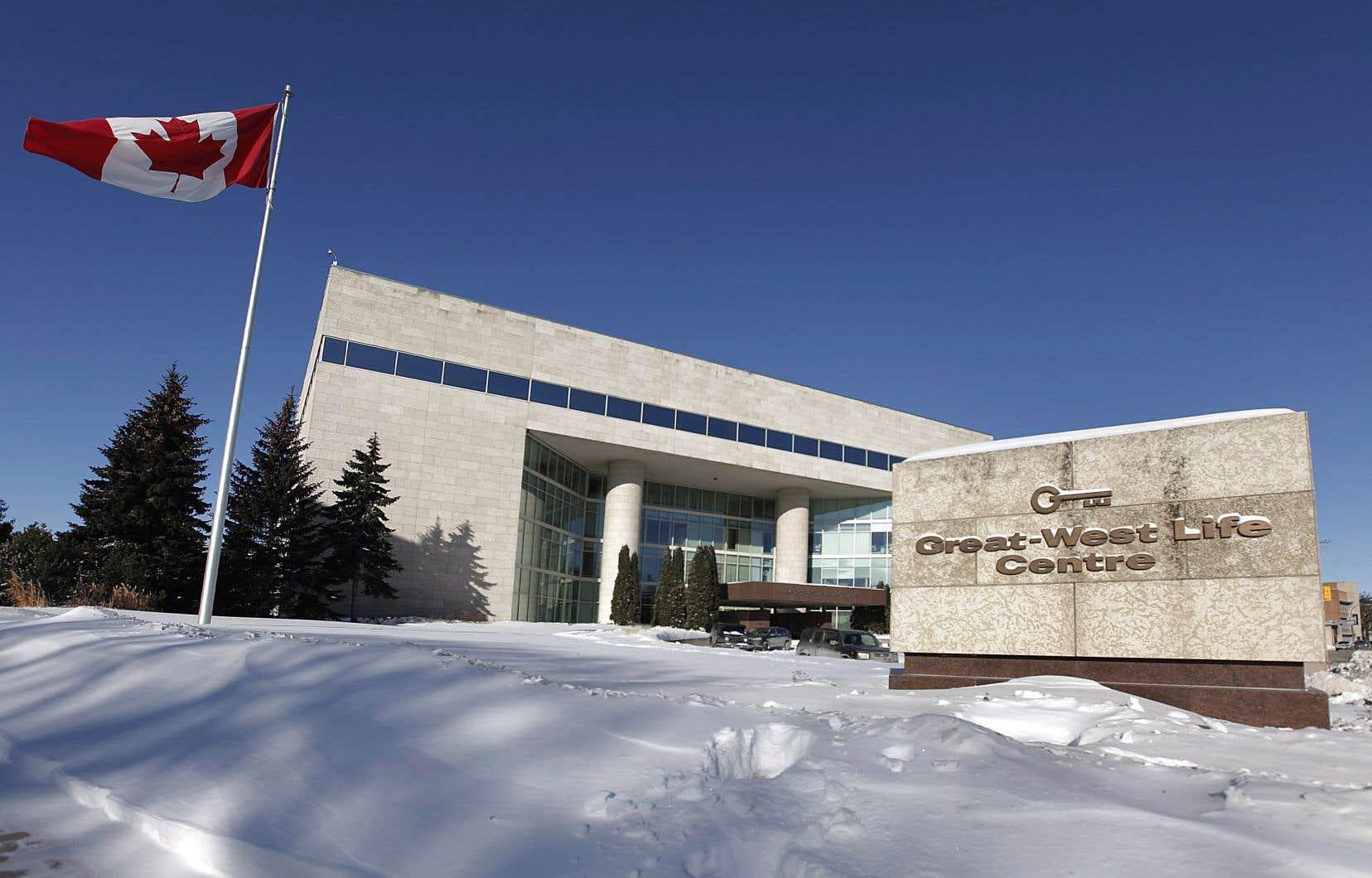 Spécialisée dans l'assurance et l'épargne-retraite, la Great-West est basée à Winnipeg et abrite d'autres noms connus comme la London Life et Canada-Vie.