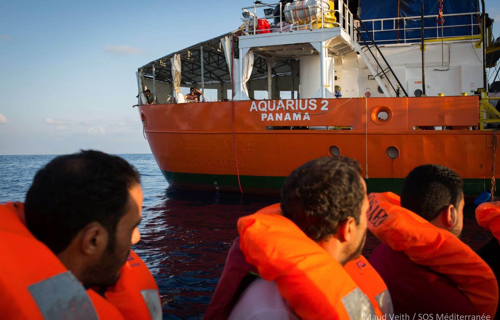 Après la décision du Panama de retirer son immatriculation au navire <em>Aquarius</em>, des parlementaires suisses avaient demandé au pays de lui octroyer le pavillon helvétique à des fins humanitaires.