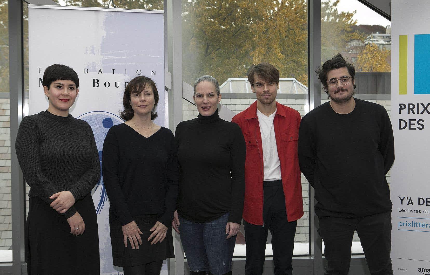 Cette année, les livres finalistes sont <em>Créatures du hasard</em> de Lula Carballo (Le cheval d'août), <em>Les villes de papier</em> de Dominique Fortier (Alto), <em>De synthèse</em> de Karoline Georges (Alto), <em>Querelle de Roberval</em> de Kevin Lambert (Héliotrope), <em>Ce qu'on respire sur Tatouine</em> de Jean-Christophe Réhel (Del Busso).