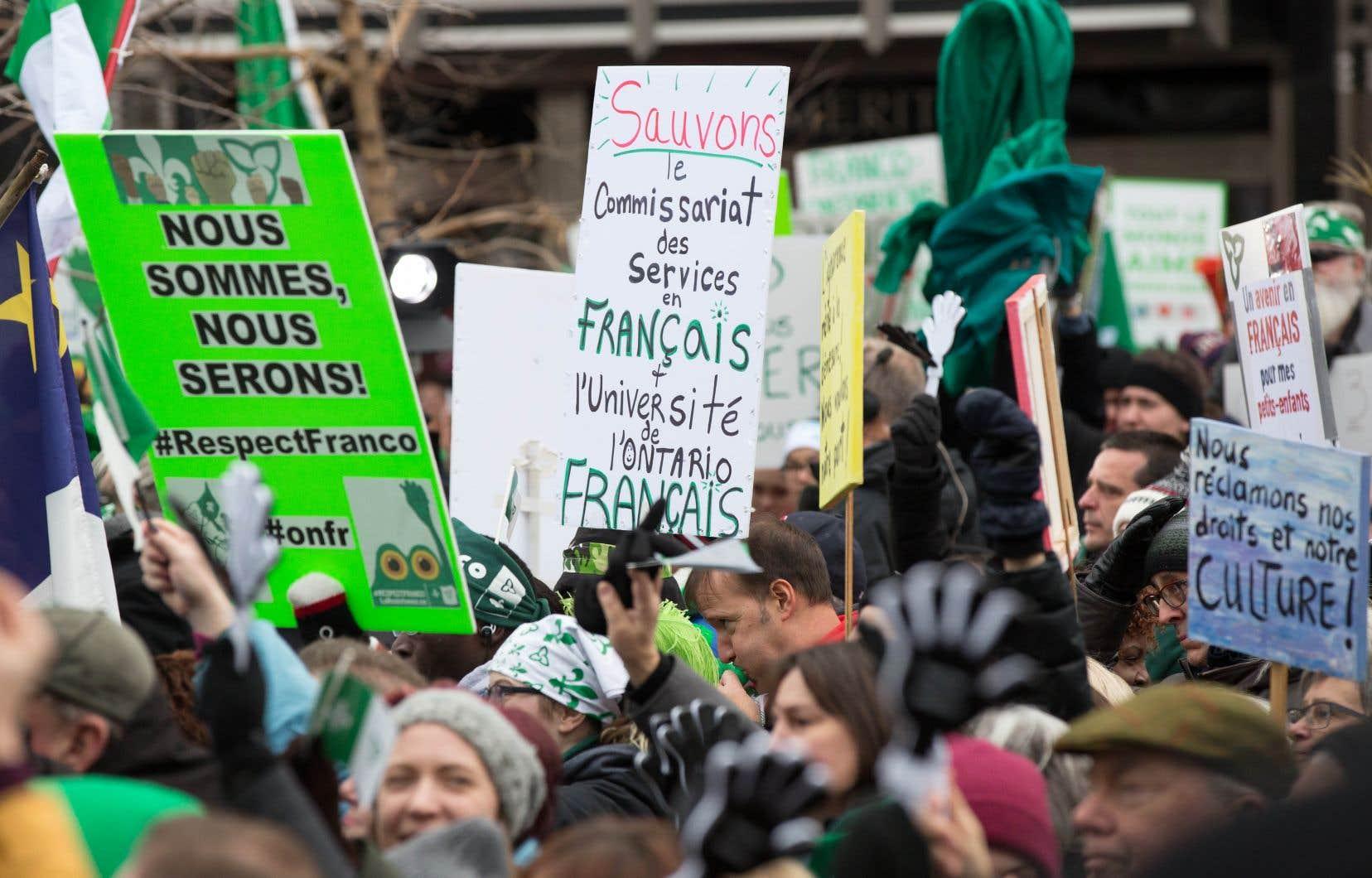 Le gouvernement fédéral est prêt à financer l'ouverture de l'Université de l'Ontario français à même son Plan d'action sur les langues officielles 2018-2023.
