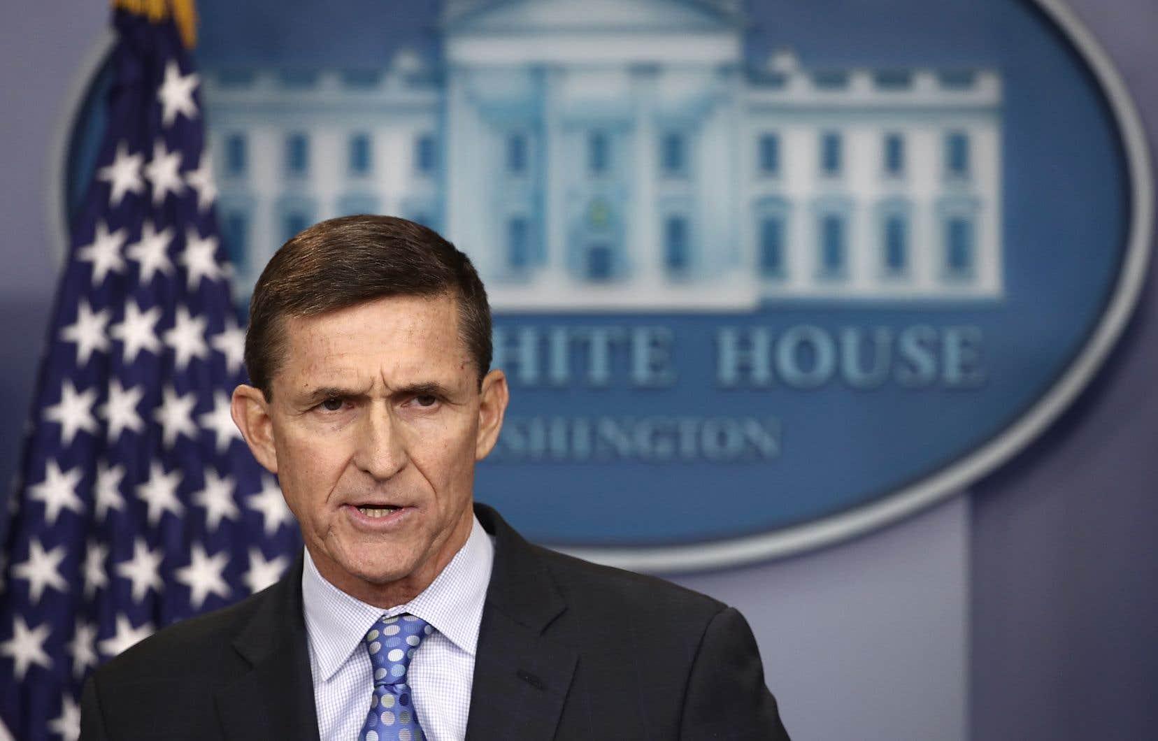 L'ex-conseiller en sécurité nationale du président Donald Trump, MichaelFlynn