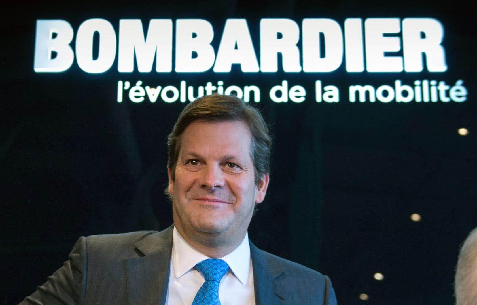 Le président du conseil d'administration de Bombardier, Pierre Beaudoin