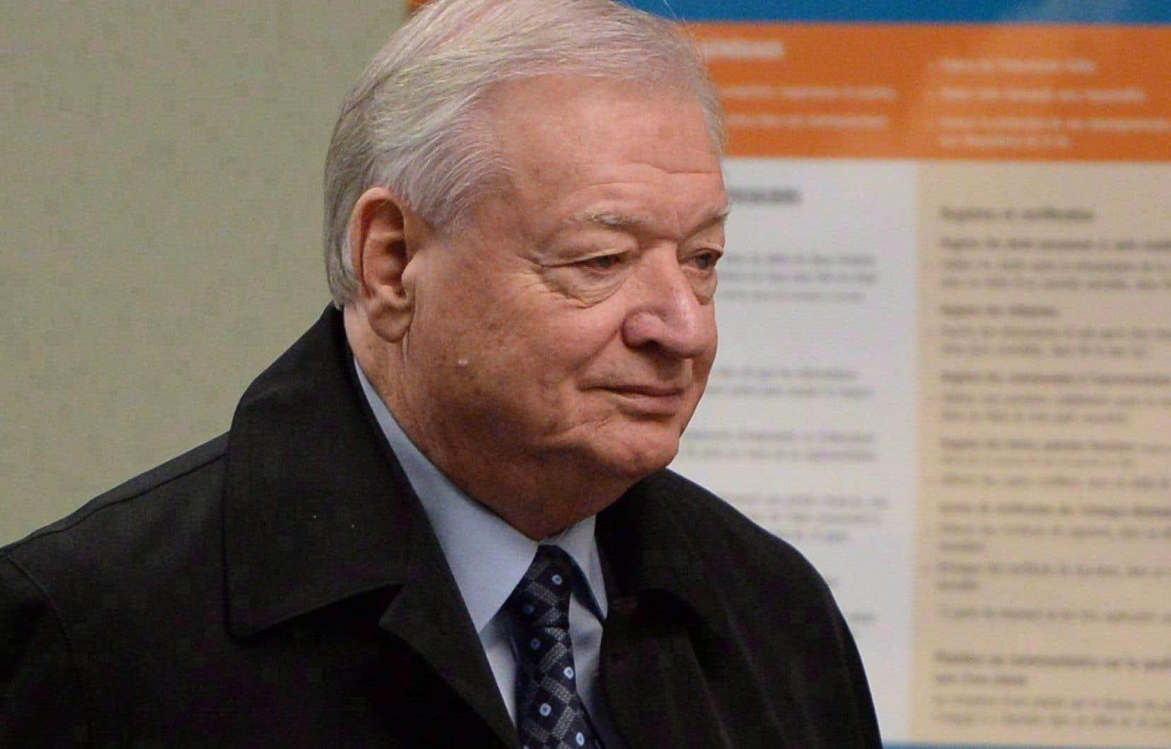 L'ancien maire de Laval, Gilles Vaillancourt