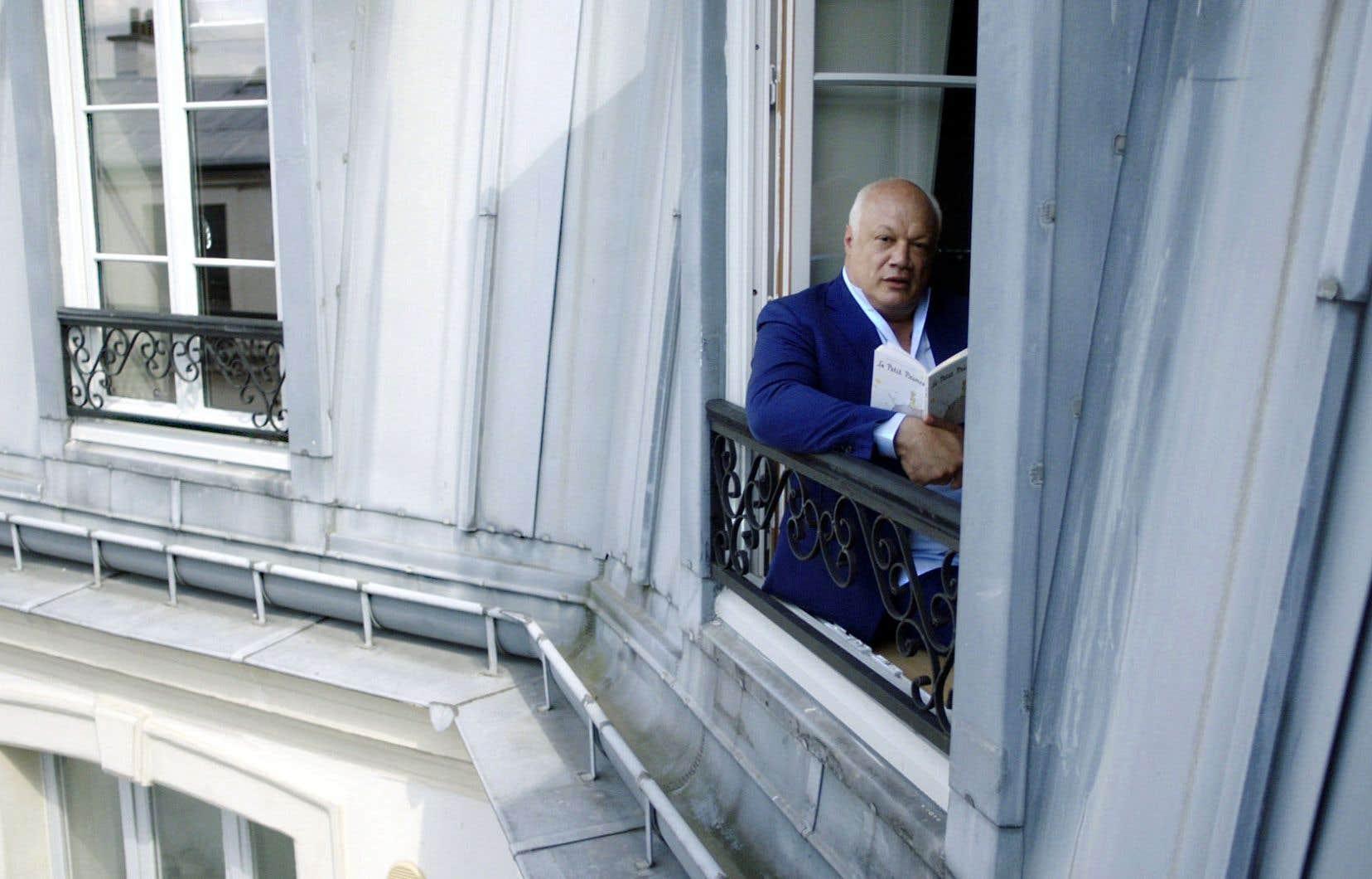 L'auteur français Éric-Emmanuel Schmitt