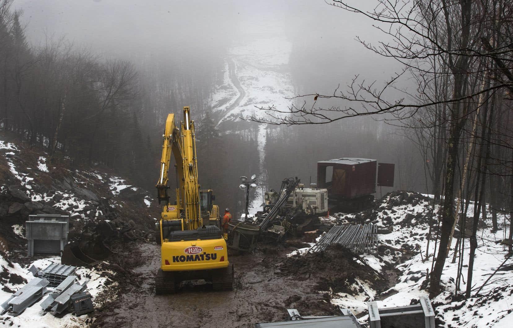 La construction de la ligne Grand-Brûlé–Saint-Sauveur ne s'est pas faite sans dommages pour l'environnement.