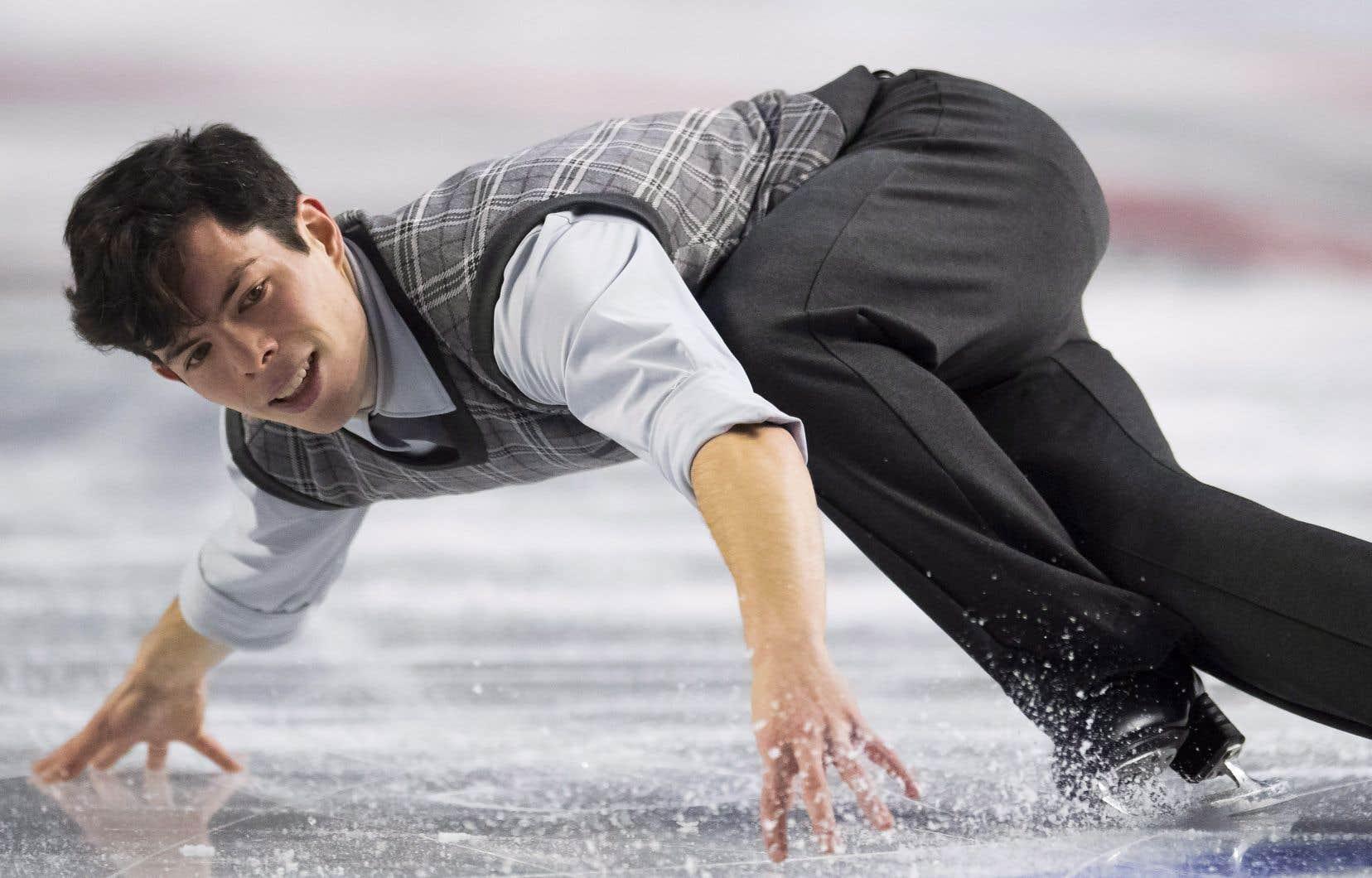 Keegan Messing est leseul Canadien à s'être qualifié pour la compétition au niveau seniorlors de la Finale du Grand Prix, à Vancouver.
