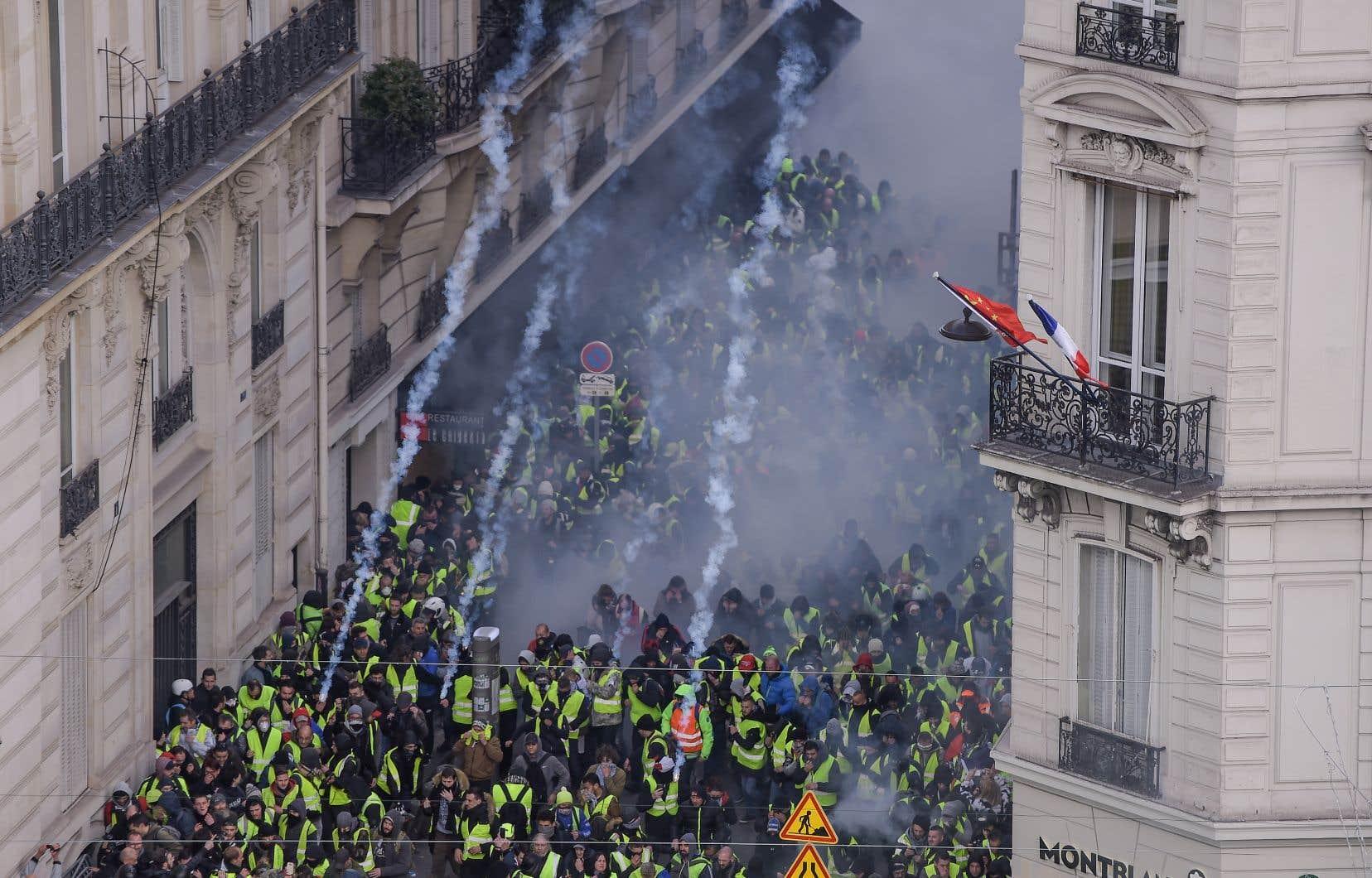 Quelque 548 personnes ont été interpellées dans la matinée à Paris. Parmi elles, au moins 272 ont été placées en garde à vue.
