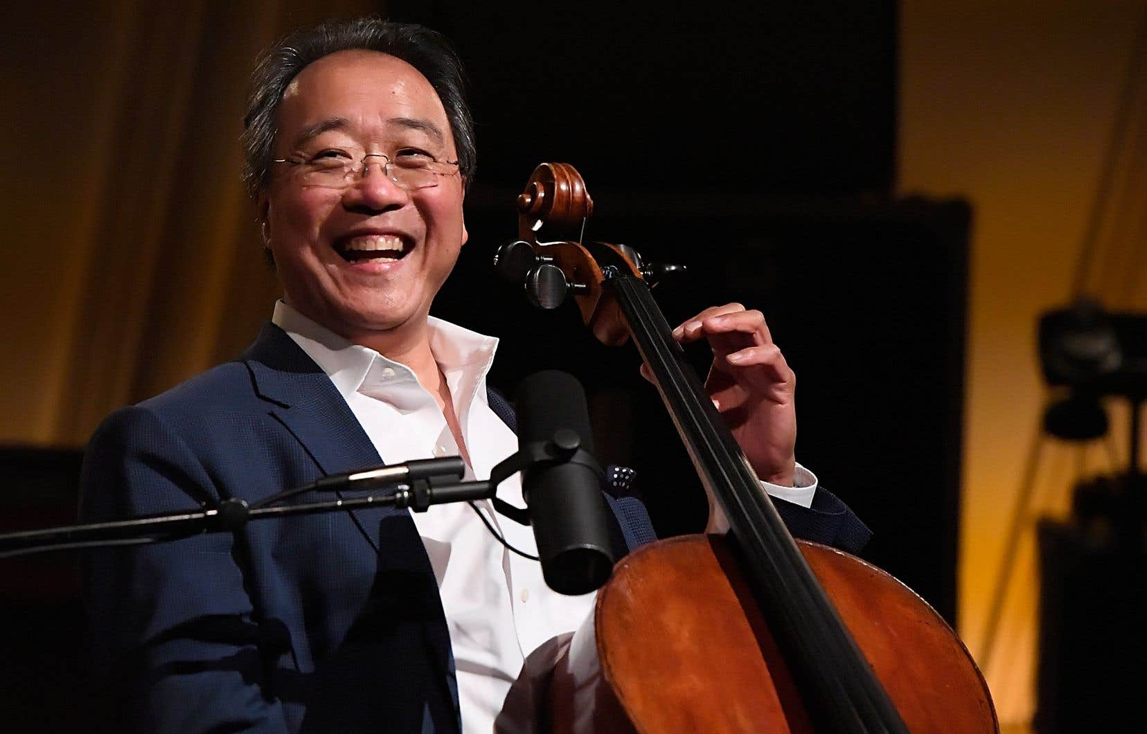 Yo-Yo Ma a présenté vendredi un concert à la Maison symphonique, interprétant l'intégrale des suites pour violoncelle.