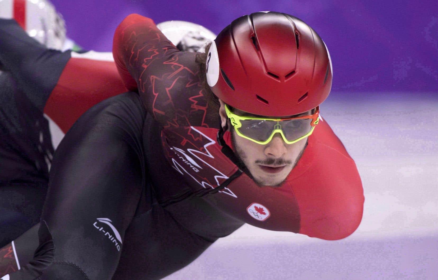 Le Canadien Samuel Girard, de Ferland-et-Boilleau, a obtenu l'or au 500m.
