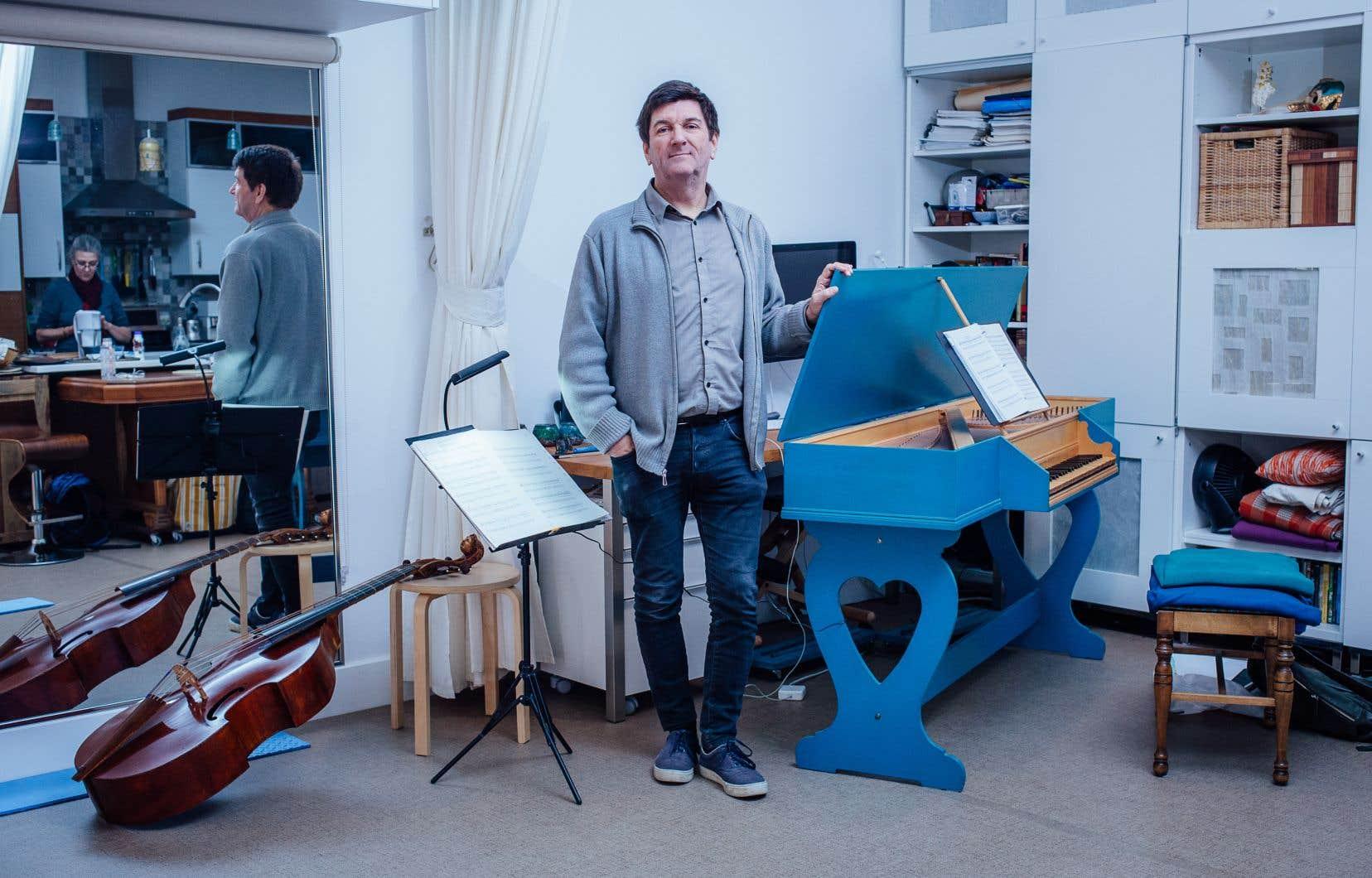 Le musicien Luc Beauséjour