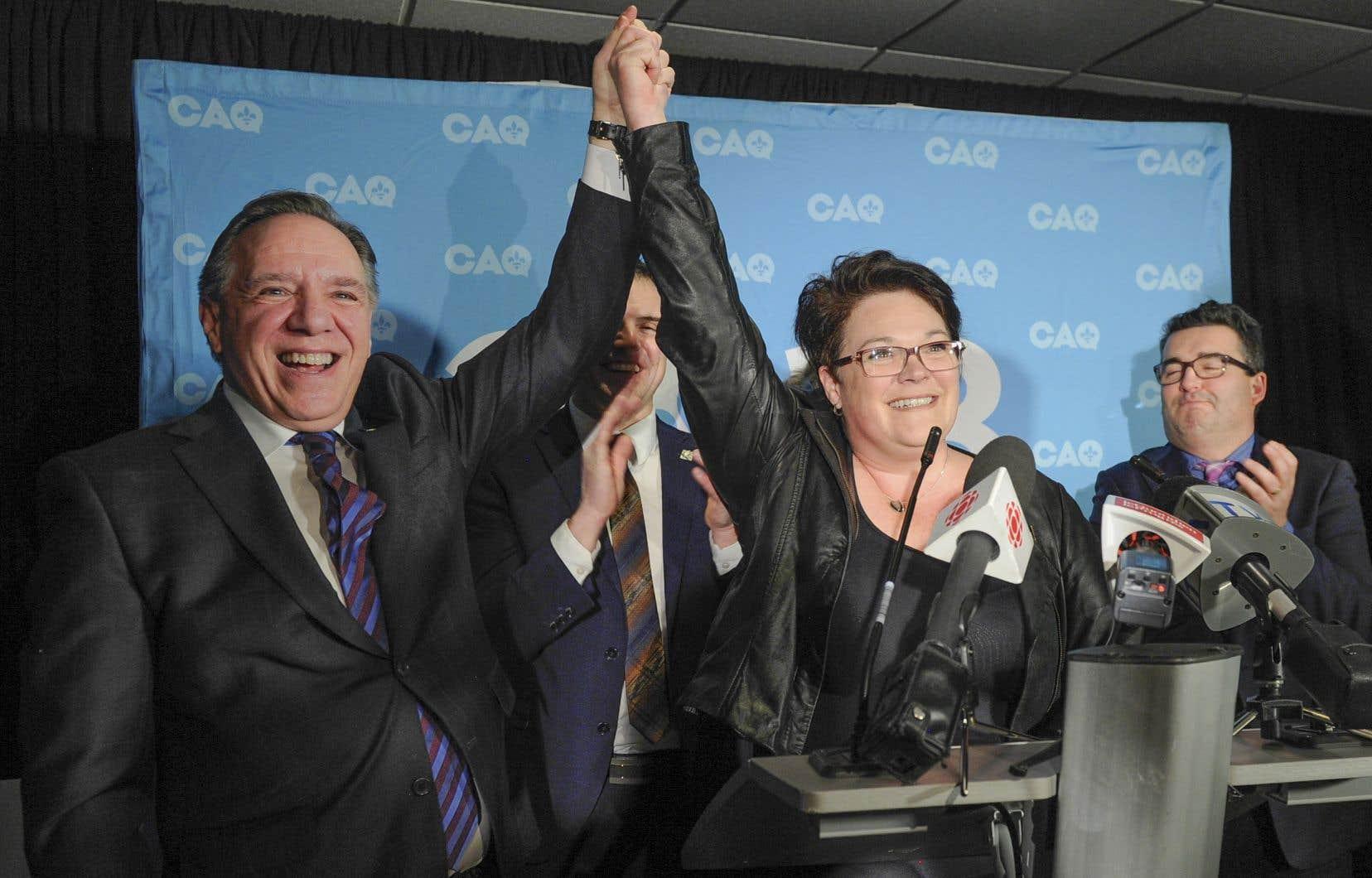 Les électeurs de Roberval ont appuyé fortement Nancy Guillemette, qui briguait les suffrages sous la bannière de la Coalition avenir Québec, lundi.