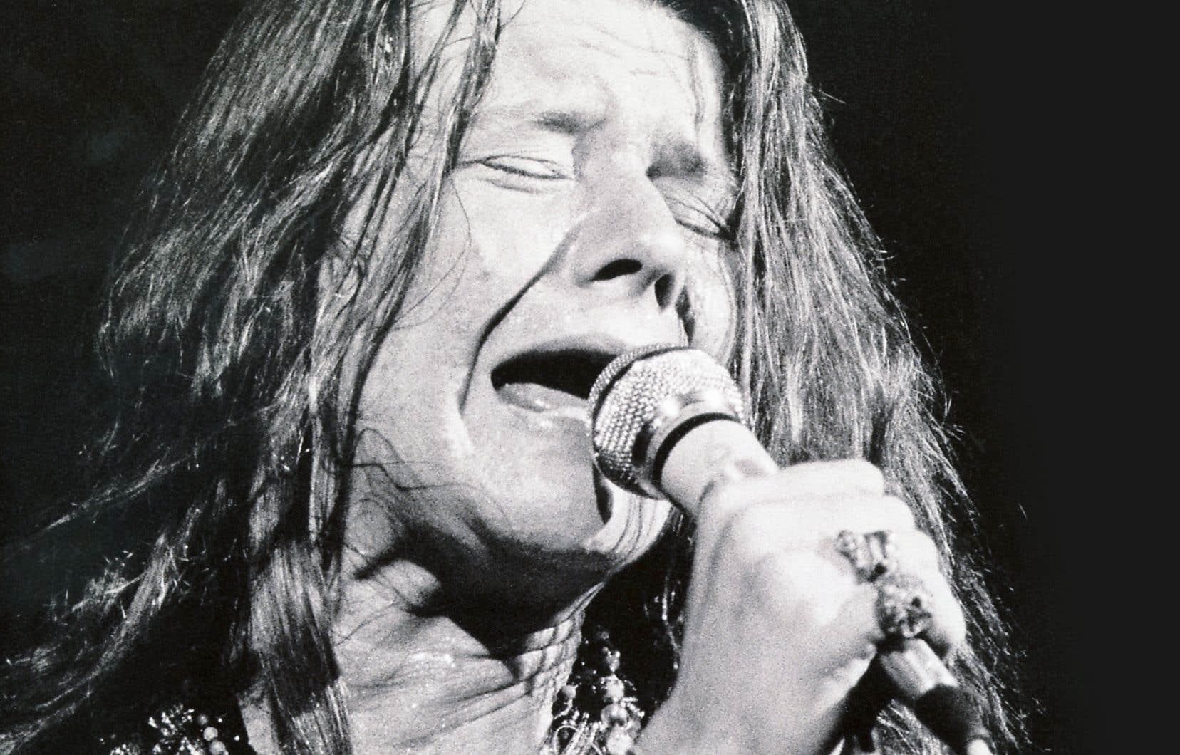 Janis Joplin livrait à ce «happening» une prestation puissante.