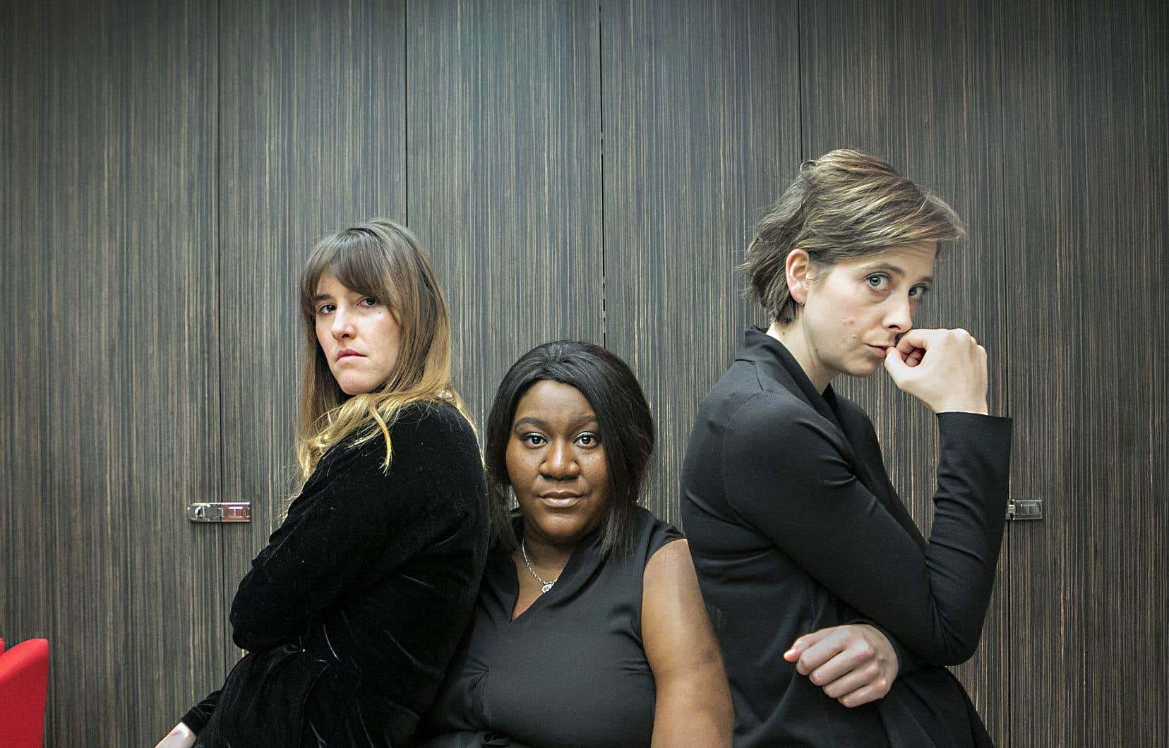 Ada (Florence Longpré), Fabiola (Mélissa Bédard) et Carolanne (Ève Landry) naviguent dans un univers dur où s'entremêlent une pauvreté crasse et une violence insidieuse, mais aussi une empathie désarmante et un humour décapant.