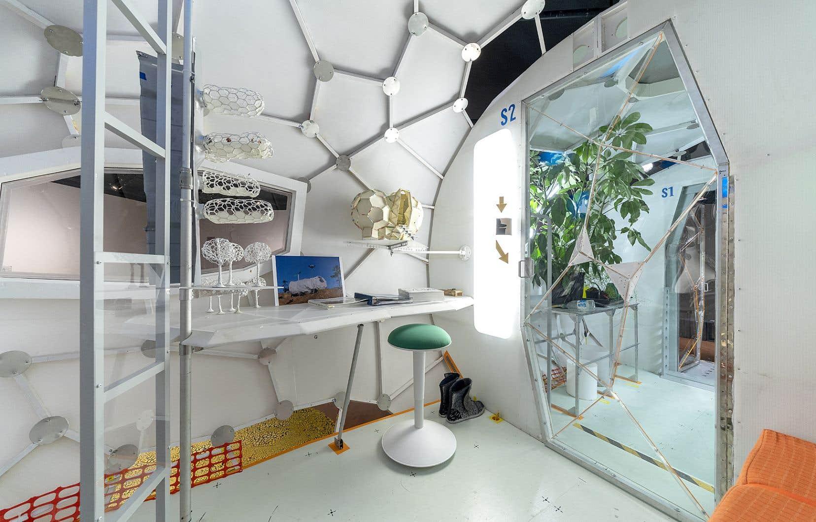 L'habitacle-vaisseau conçu par Daniel Corbeil serait le prototype le plus abouti jusqu'à ce jour pour vivre et se déplacer en autarcie.