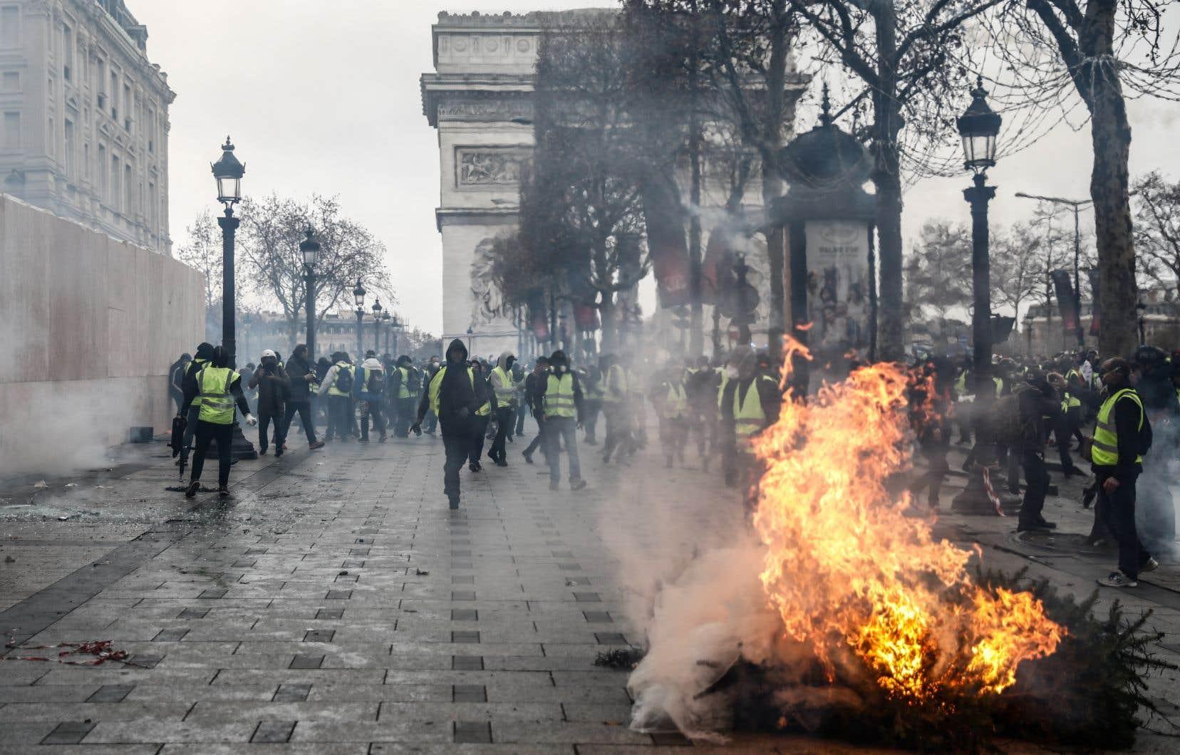 Le mouvement des «gilets jaunes» appelle de nouveau à se rassembler à Paris et dans les autres villes de France samedi.