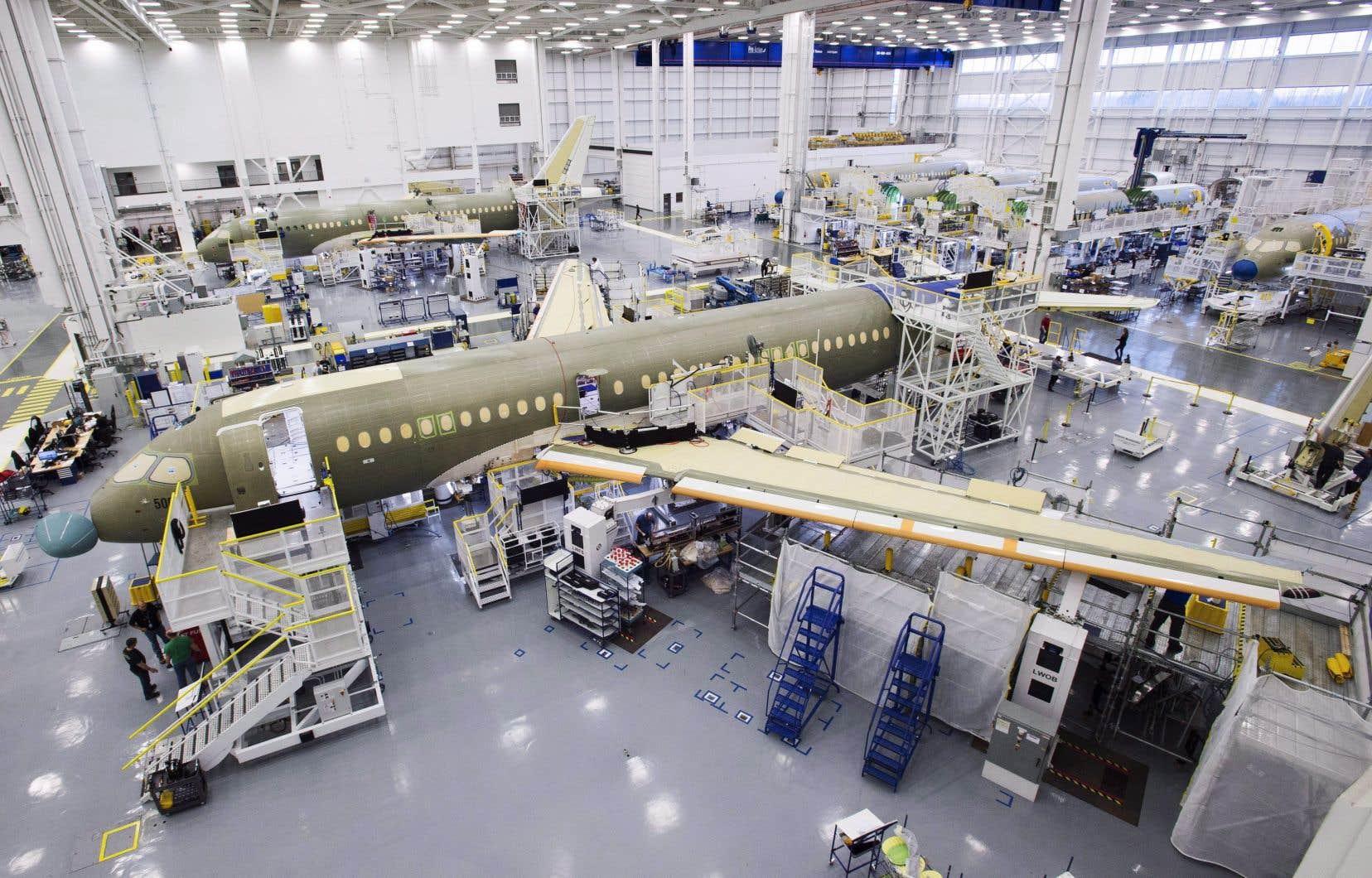 Sans appuis gouvernementaux, «Bombardier n'aurait pas lancé le programme CSeries lorsqu'il l'a fait et n'aurait pas pu offrir (et continuer d'offrir) des prix inférieurs au coût de production», affirme le Brésil dans son document.