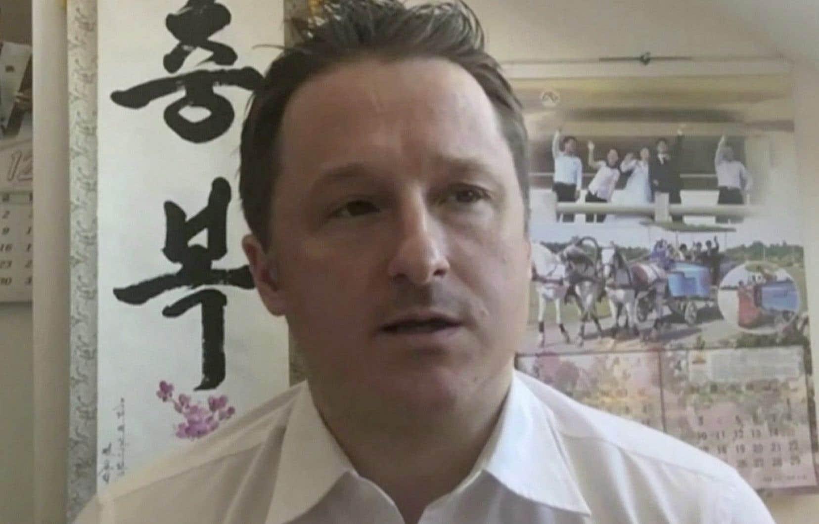Un communiqué d'Affaires mondiales Canada indique que l'ambassadeur canadien en Chine a pu rencontrer M. Spavor dimanche et que les autorités consulaires continueront de lui offrir leur soutien, sans fournir plus de détails.