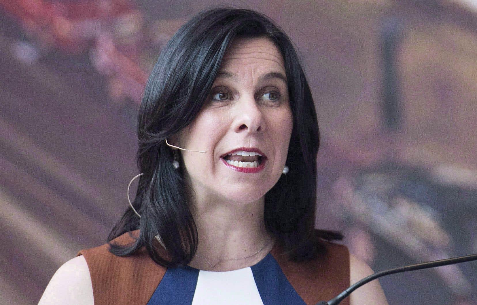 La mairesse Valérie Plante estime que les annonces effectuées par son administration n'ont eu aucun effet sur les résultats de dimanche.