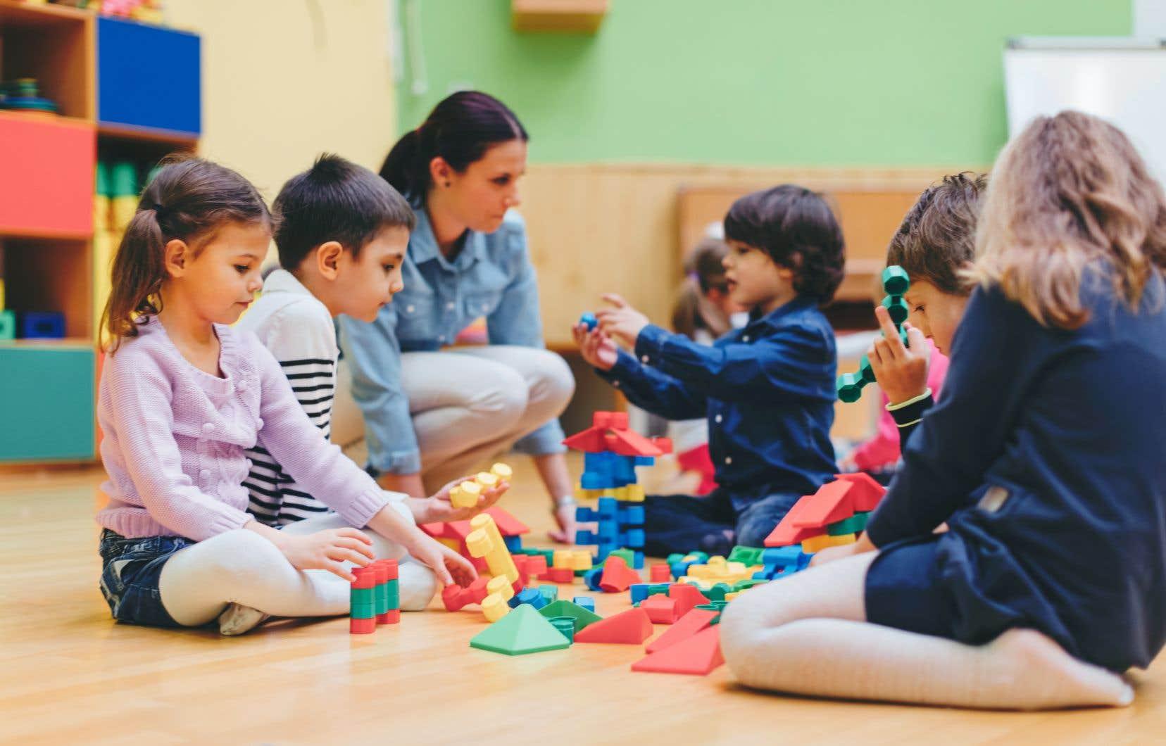L'association québécoise des CPE voit d'un bon œil la volonté du gouvernement caquiste d'instaurer une observation plus assidue des apprentissages des enfants.