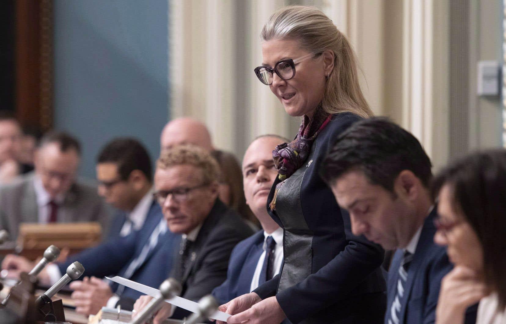 La nouvelle ministre de l'Environnement, MarieChantal Chassé, croit que ces sévères constats confirment «l'urgent besoin de réexaminer les actions financées par le Fonds vert».