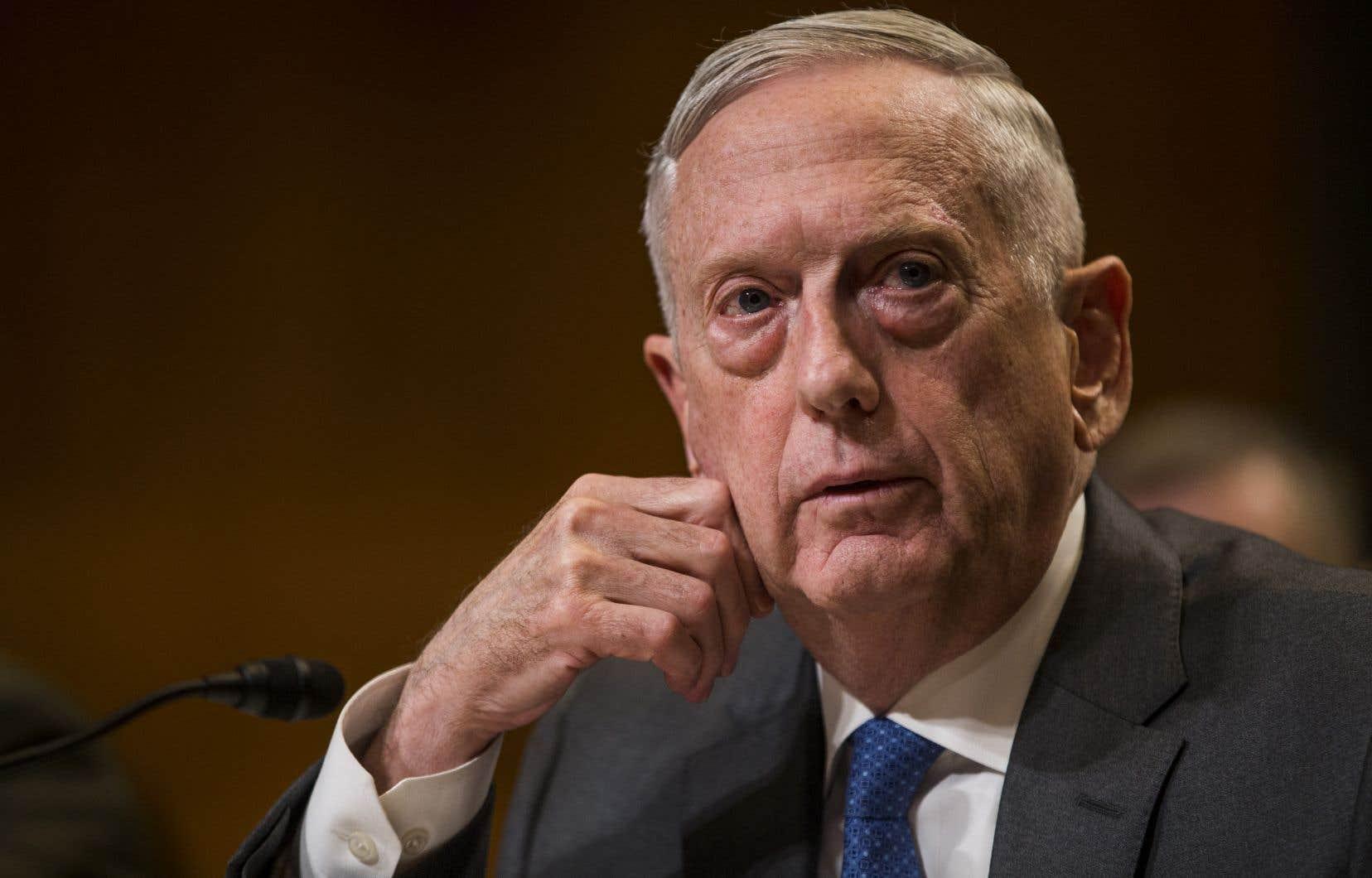 Le ministre américain de la Défense, Jim Mattis, a reconnu avoir des divergences avec le président Donald Trump.