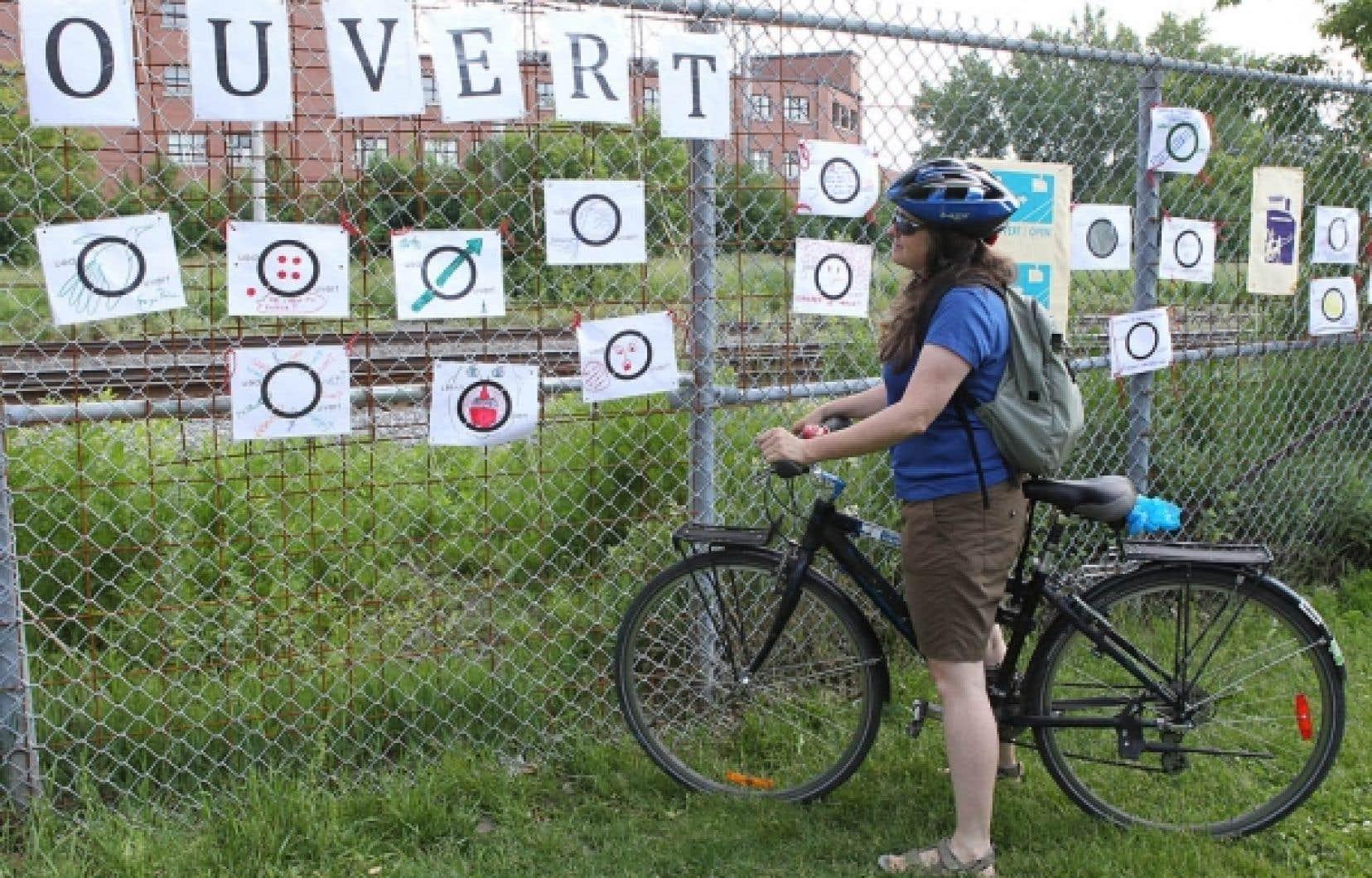 Manifestation de cyclistes et de piétons