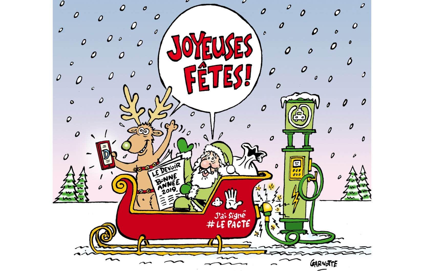 Le père Noël craignait le pire depuis longtemps, allez!