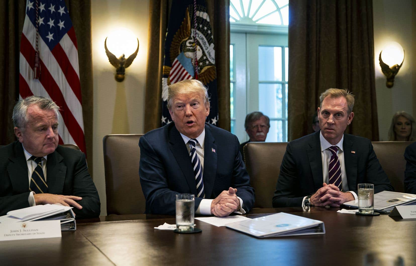 Selon le président américain, Donald Trump, les troupes américaines n'étaient plus utiles en territoire syrien car le groupe armé État islamique était «en grande partie vaincu».