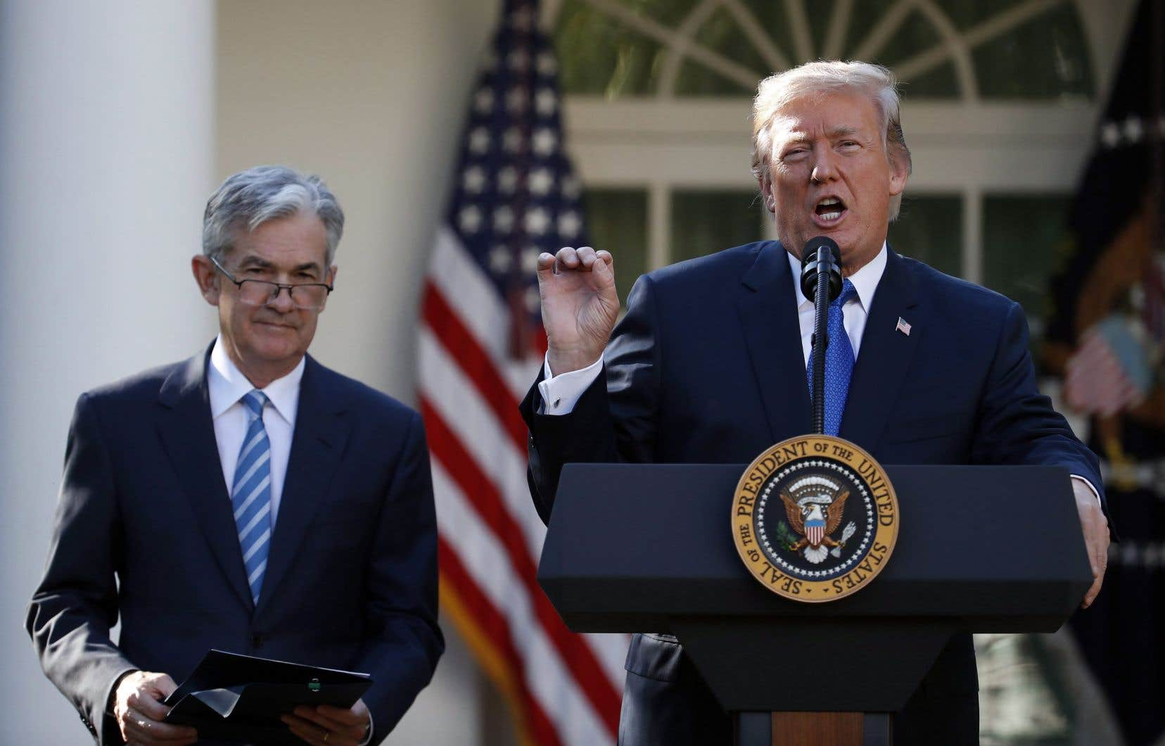 Lorsque comparée à la performance boursière après une première année électorale, celle de Donald Trump a été surpassée à cinq reprises depuis la Deuxième Guerre mondiale, écrivait l'économiste Robert Kavcic.