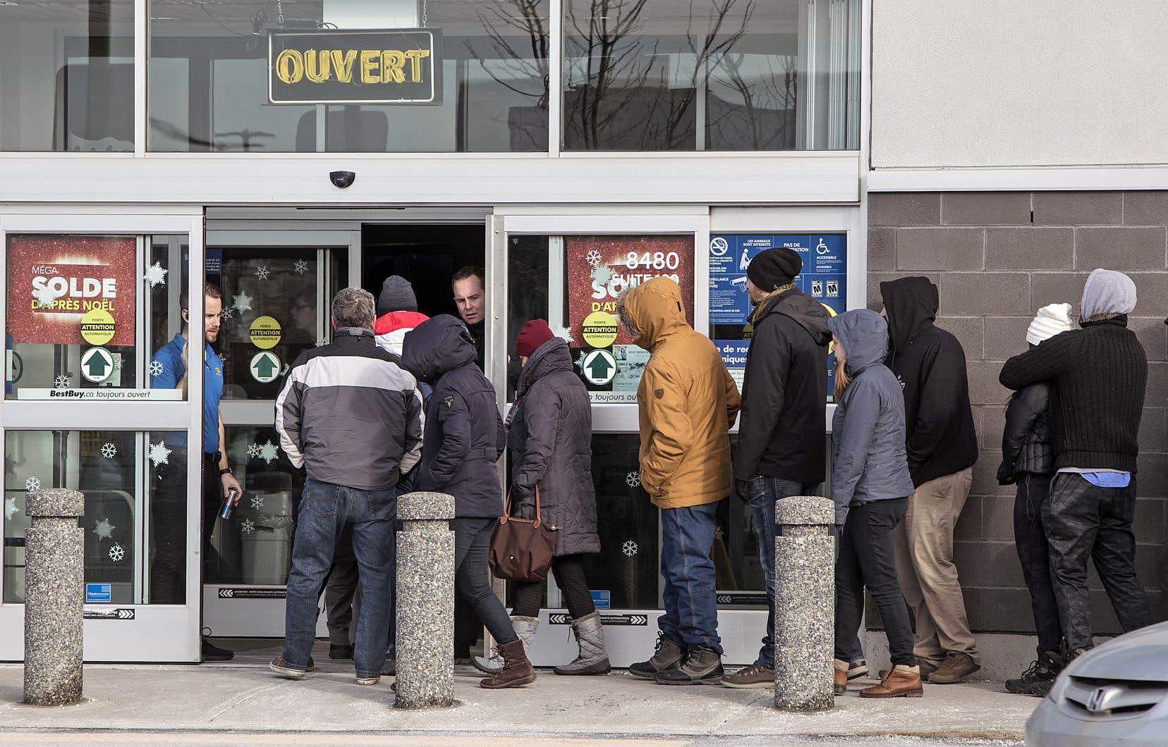 La fête du «Boxing Day» remonte à bien plus loin que les soldes dans les magasins à grande surface, qui demeurent très courus.