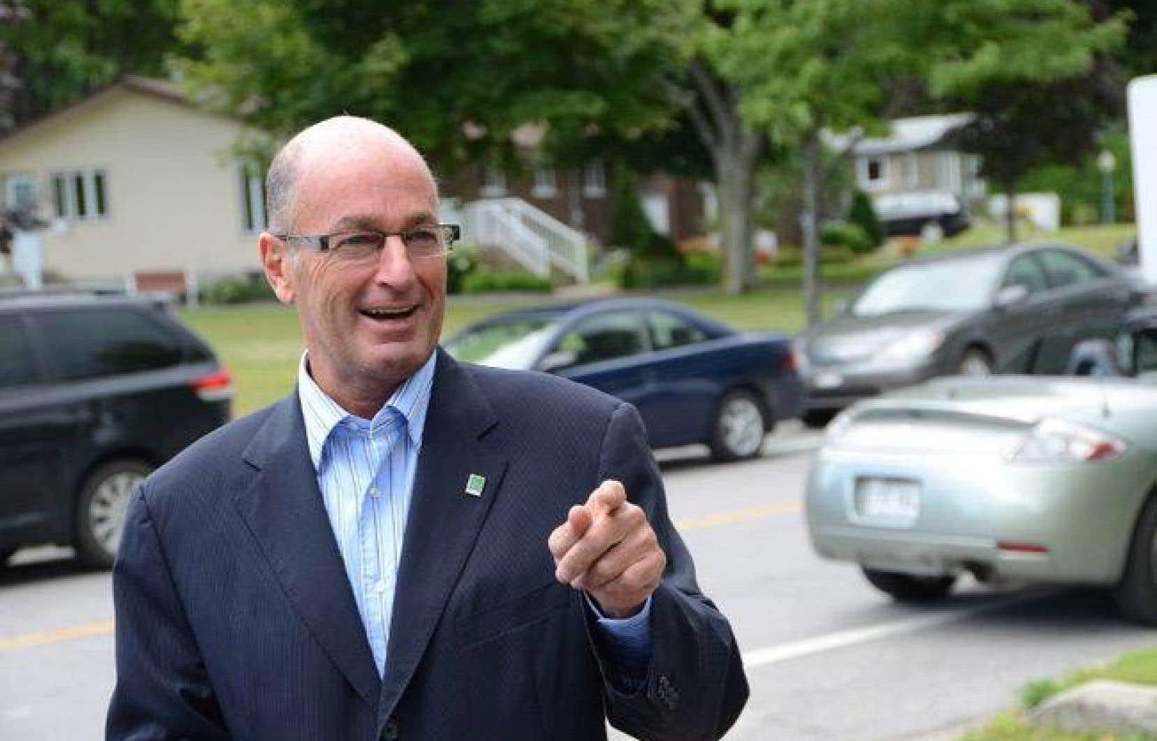 Le maire de Trois-Rivières, Yves Lévesque
