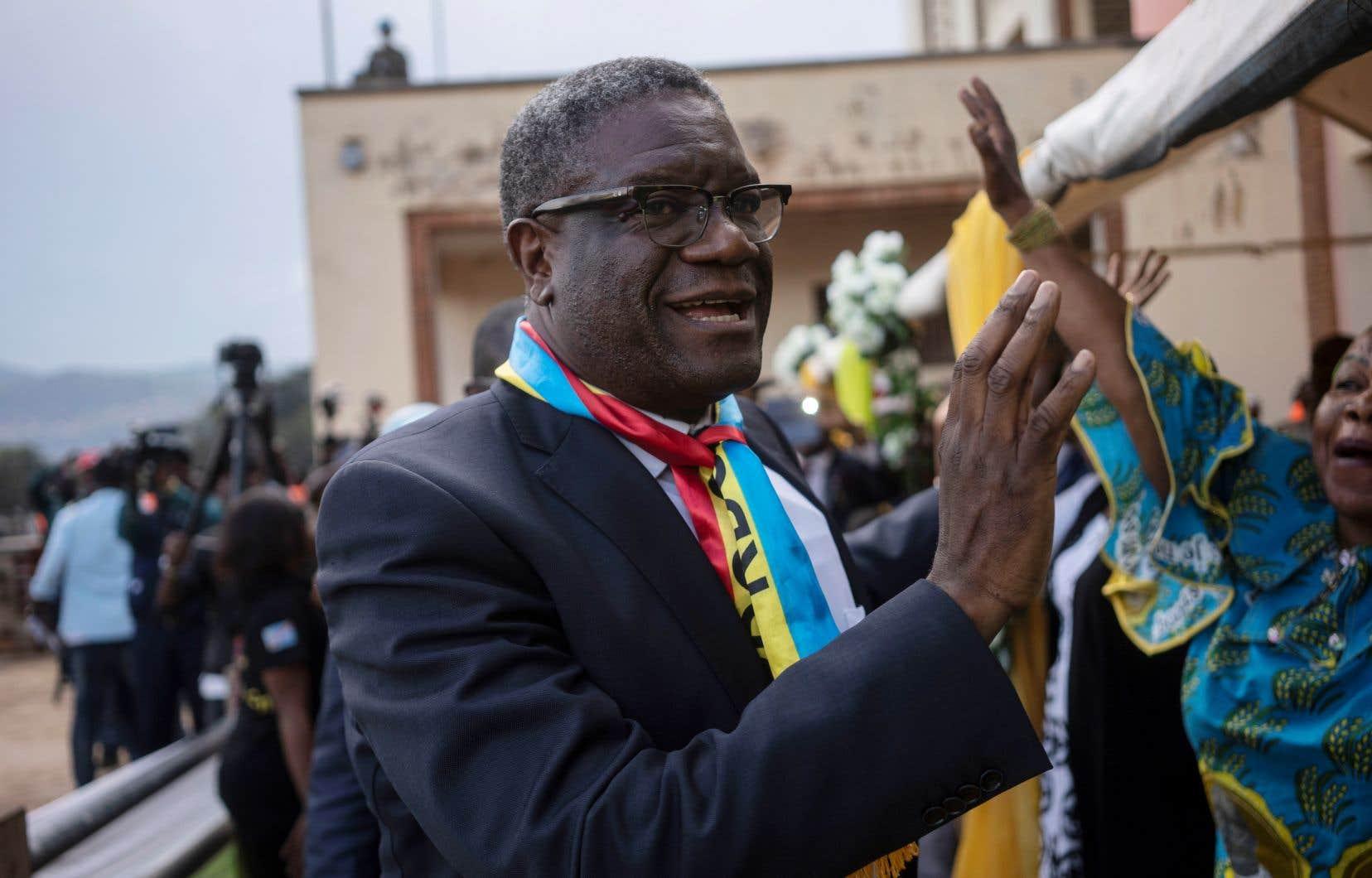Le chirurgien congolais Denis Mukwege a reçu un prix Nobel de la paix en octobre dernier.