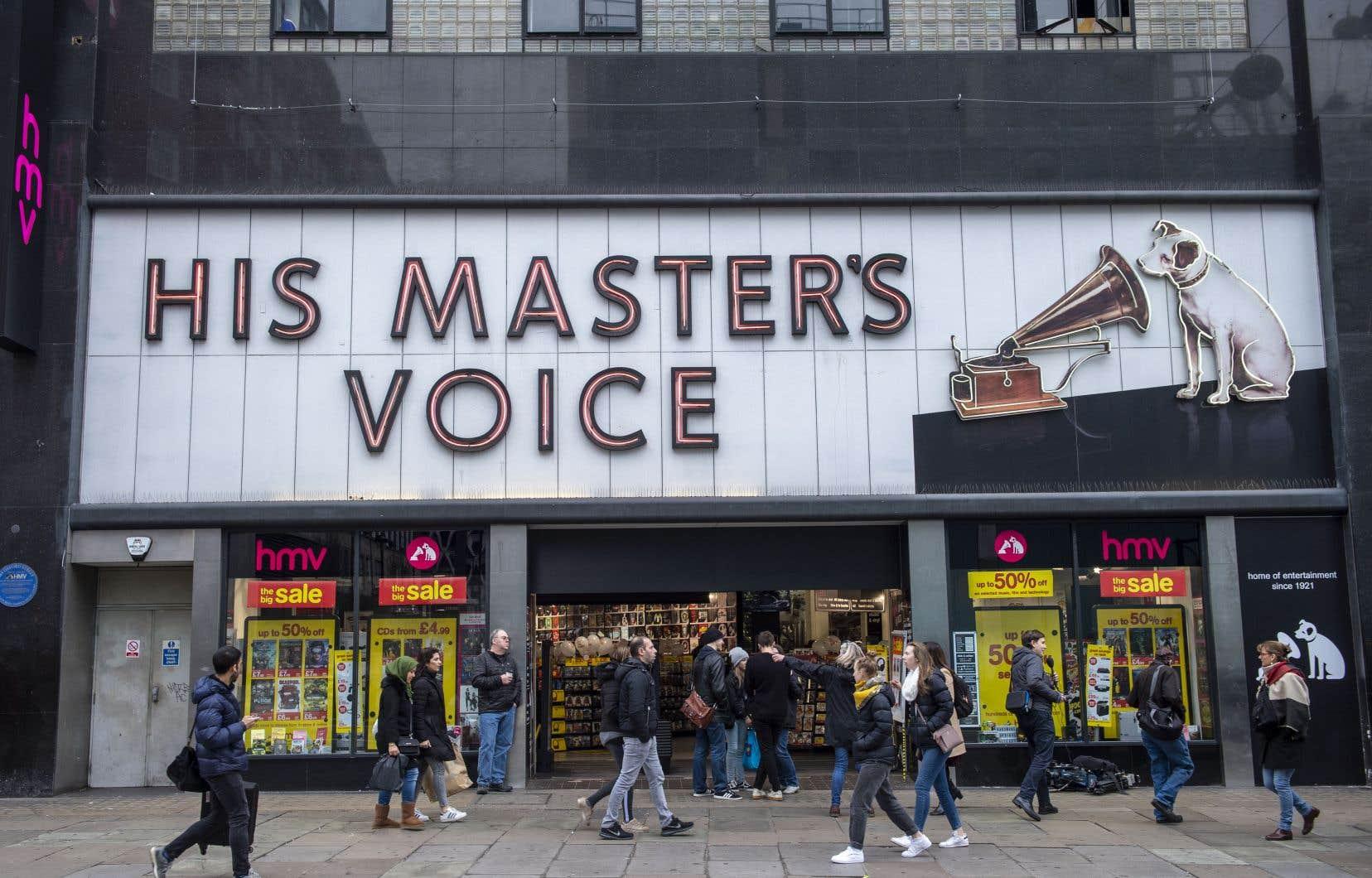 HMV avait fait faillite une première fois en 2013, souffrant déjà des ventes en ligne.