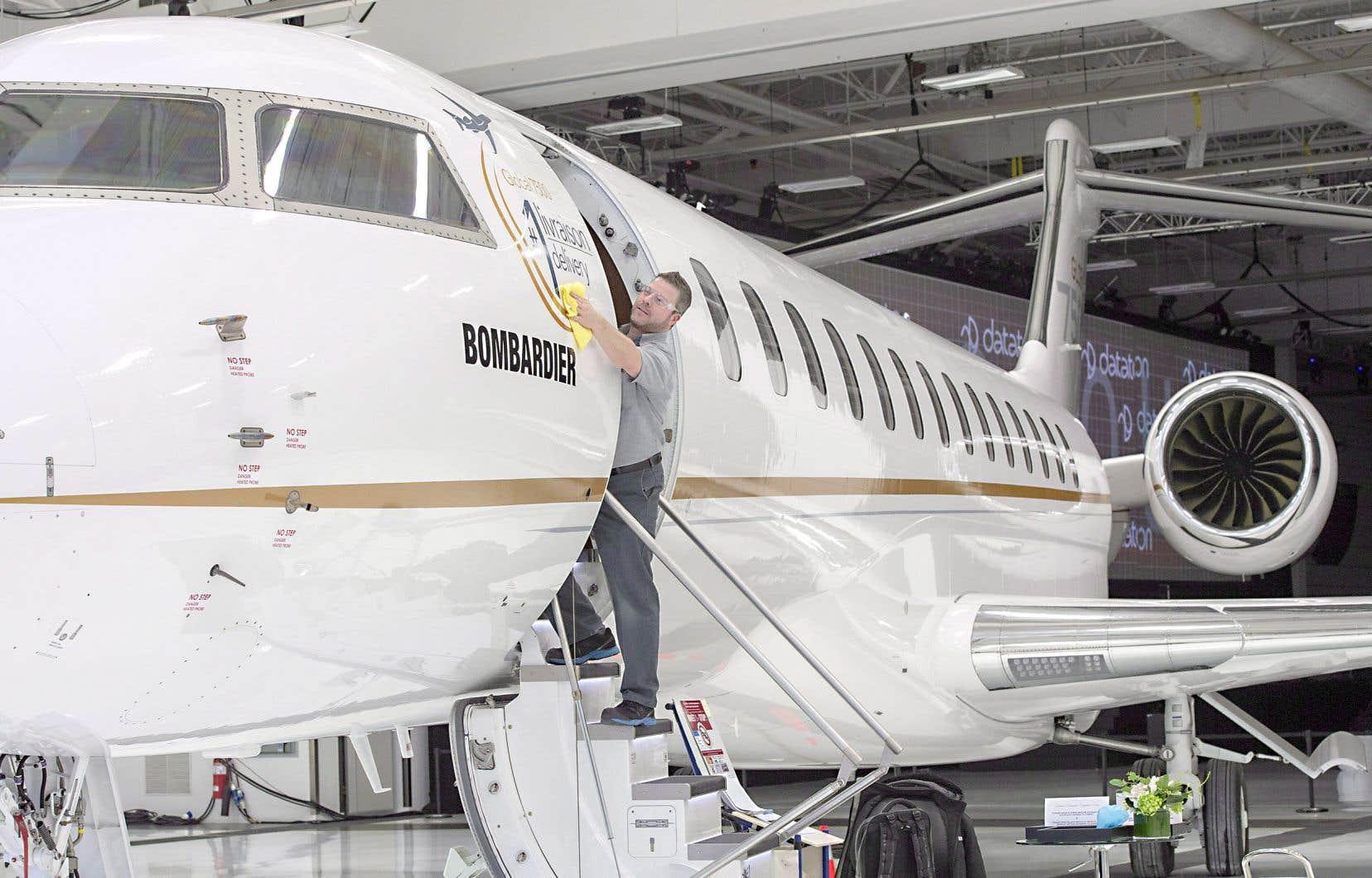 Bombardier a officiellement lancé son nouvel avion d'affaires Global 7500 quelques jours avant Noël. Bien que l'avionneur ait connu des hauts et des bas cette année, l'industrie se porte bien, selon Aéro Montréal.