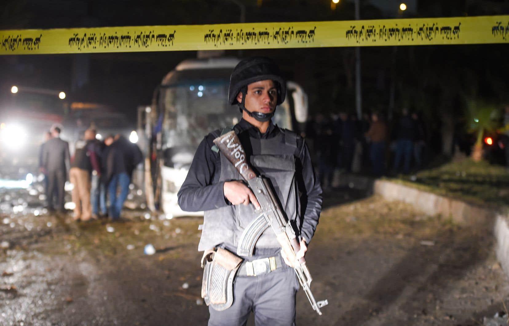 Les forces de sécurité ont été dépêchées sur les lieux de l'attaque de jeudi après-midi, d'après le ministère de l'Intérieur.