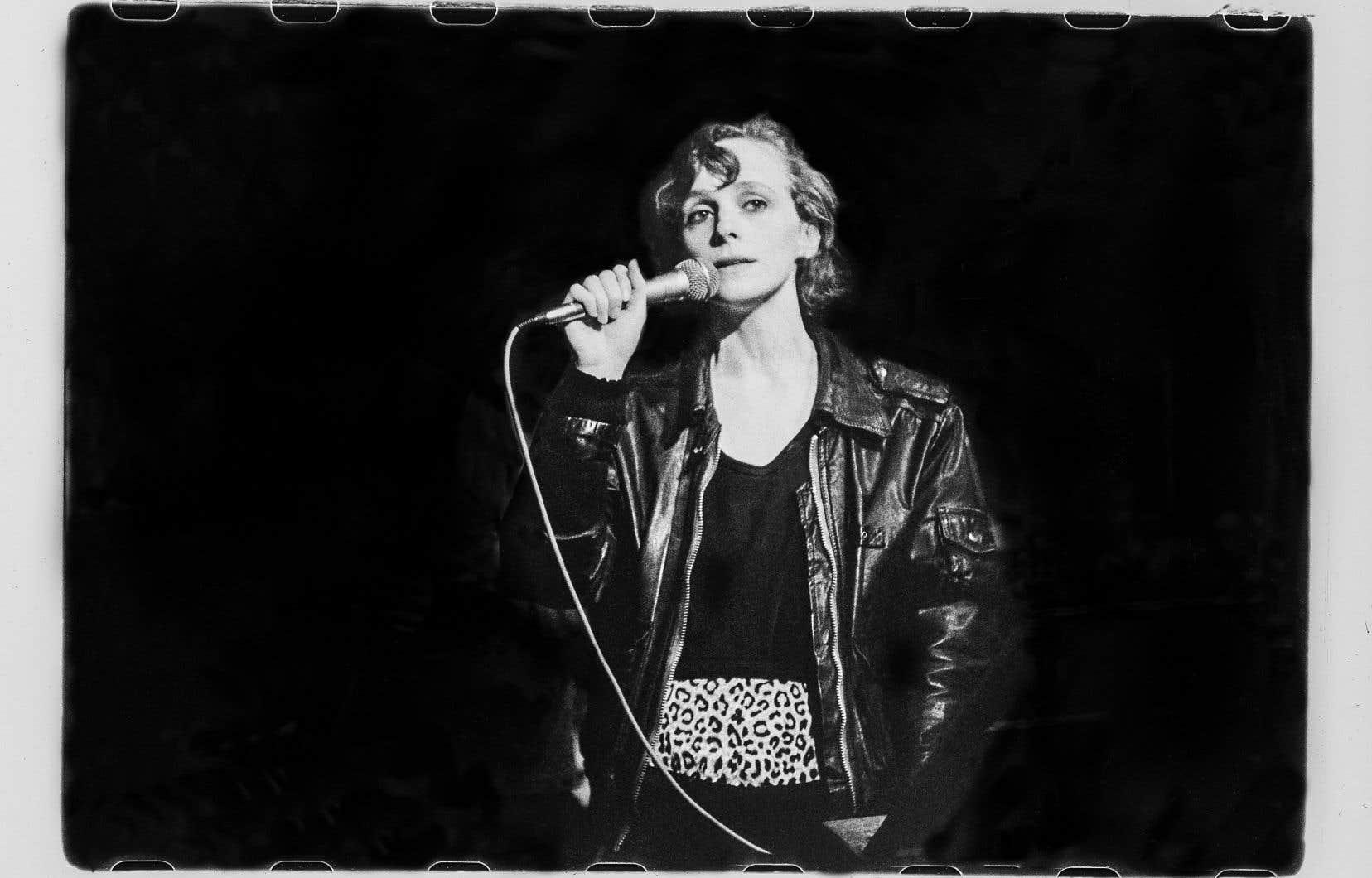 Hélène Monette au Quai des brumes, le 11 mars 1990