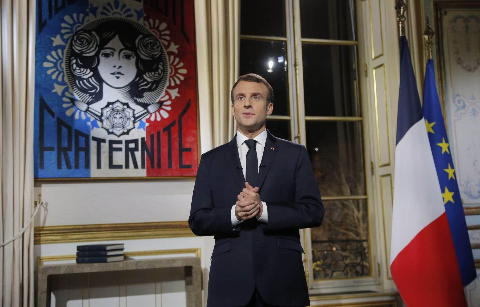 Emmanuel Macron a exhorté les Françaisà «faire mieux» et à retrouver la «maîtrise» de leur «quotidien» et de leur «destin».