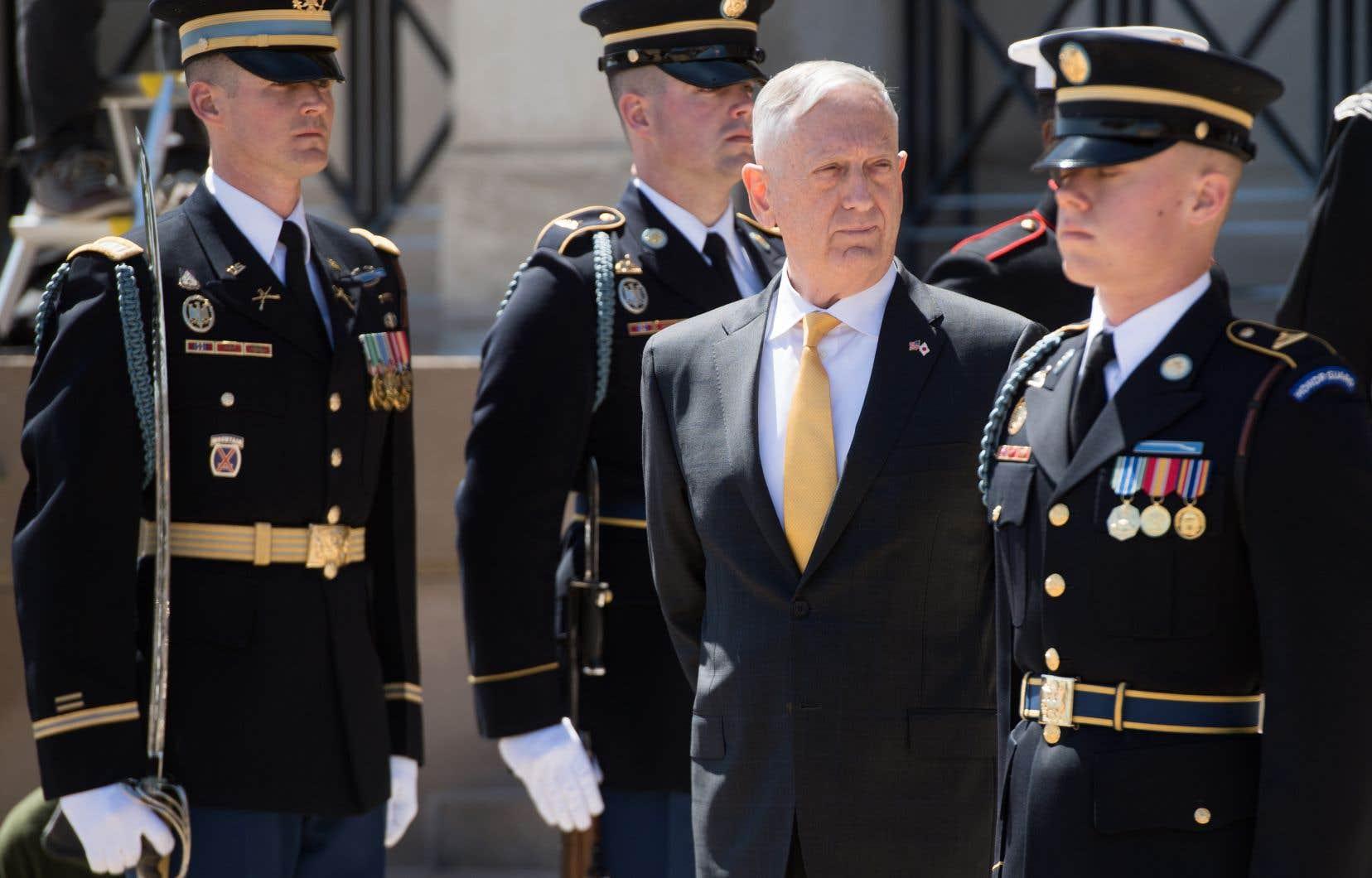 Jim Mattis a démissionné le 20 décembre, au lendemain de la décision de Donald Trump de retirer l'ensemble des troupes américaines déployées en Syrie.