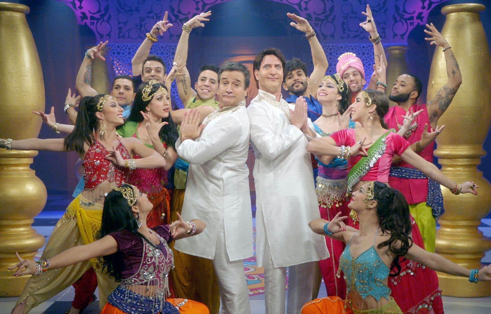 La publicité de la SQDC en rupture de stock aura arraché en quelques secondes plus de rires que chacune des longues minutes de ce pénible numéro chanté bombardant Justin Trudeau en star de Bollywood.