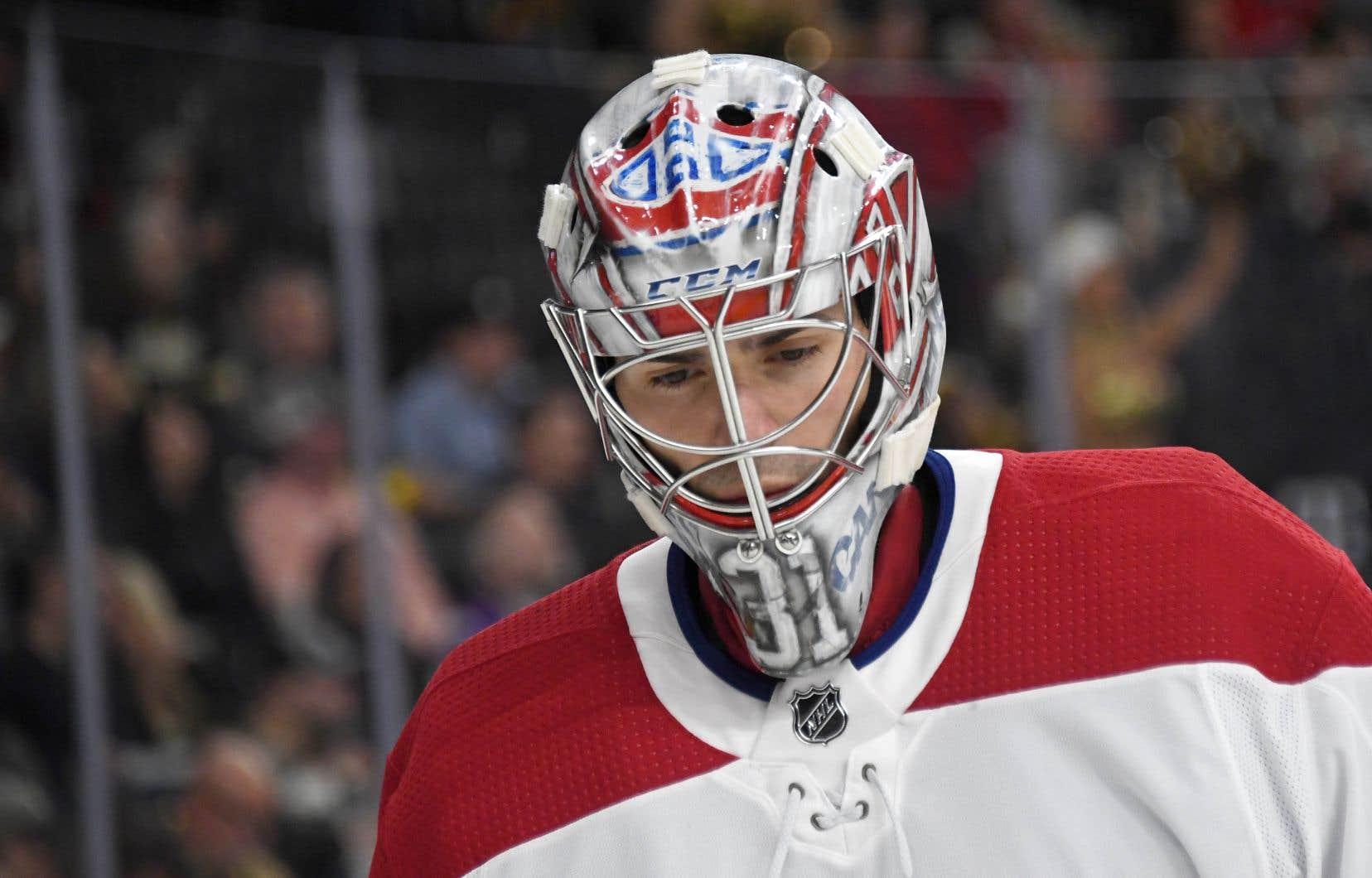 Carey Price n'a pas accompagné le Canadien au cours de son périple en Floride et à Dallas, alors qu'Antti Niemi a dû prendre le relais.