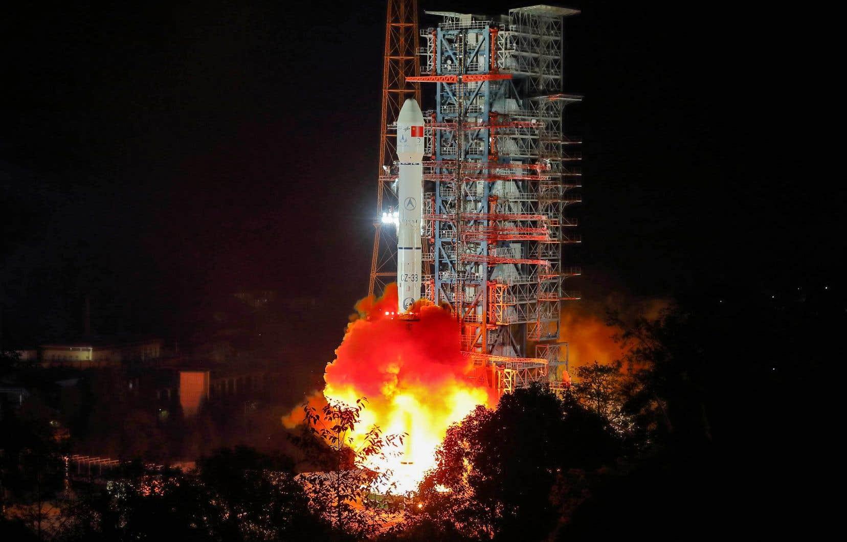 Lancement du module d'exploration lunaireChang'e-4 le 8 décembre dernier