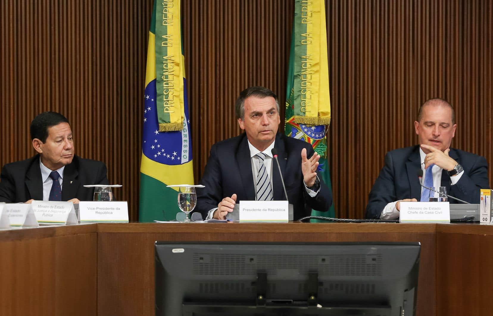Farouche anticommuniste, Jair Bolsonaro a été élu en octobre en partie grâce à un fort rejet du Parti des travailleurs.