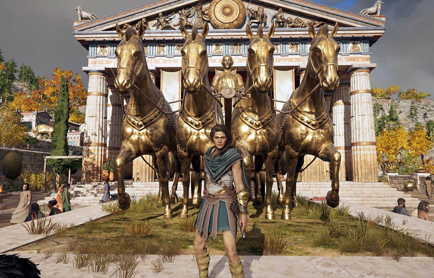 L'esthétique du jeu «Odyssey» est très réaliste. Pour valider son visuel, l'équipe d'Ubisoft a fait appel à une docteure en histoire et historienne.